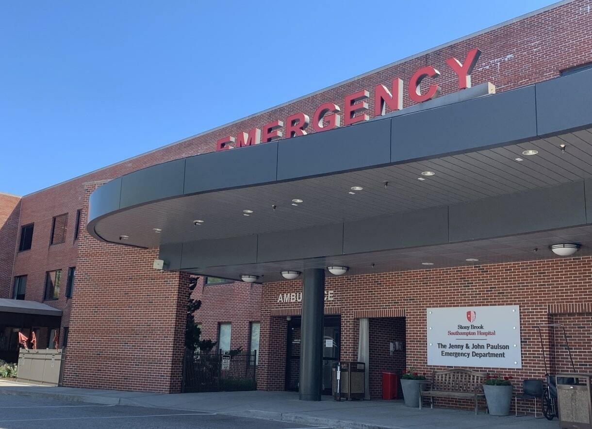 Stony Brook Southampton Hospital.