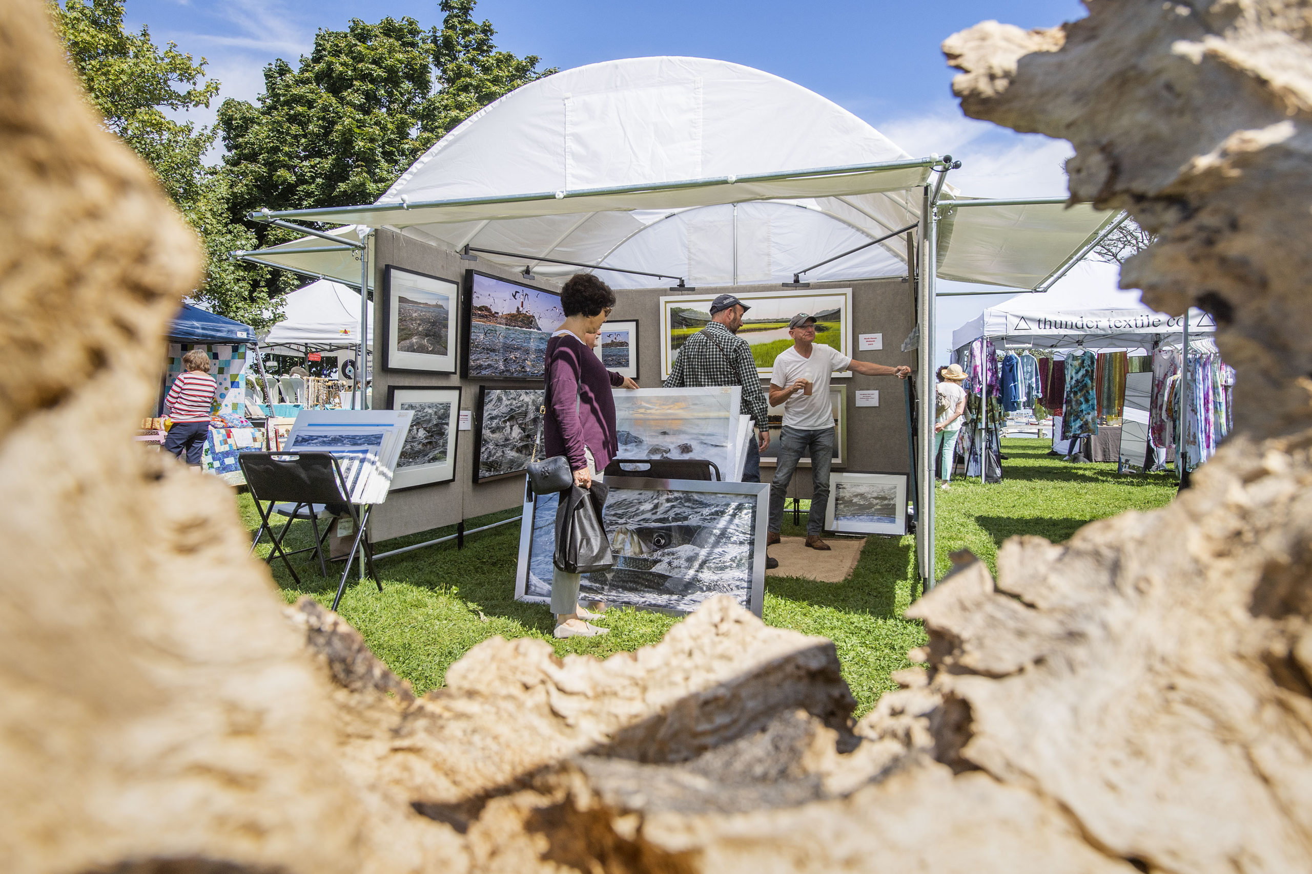 More than 50 vendors will return for the Sag Harbor Chamber of Commerce Father's Day Arts & Crafts Fair at Marine Park in Sag Harbor on June 19 and 20.