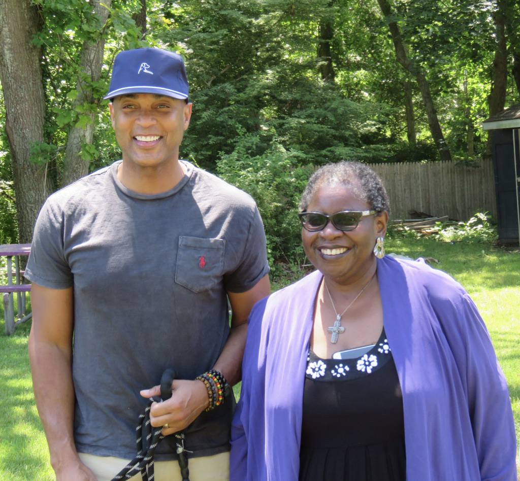 Don Lemon and Bonnie Cannon.  KIMBERLY GOFF