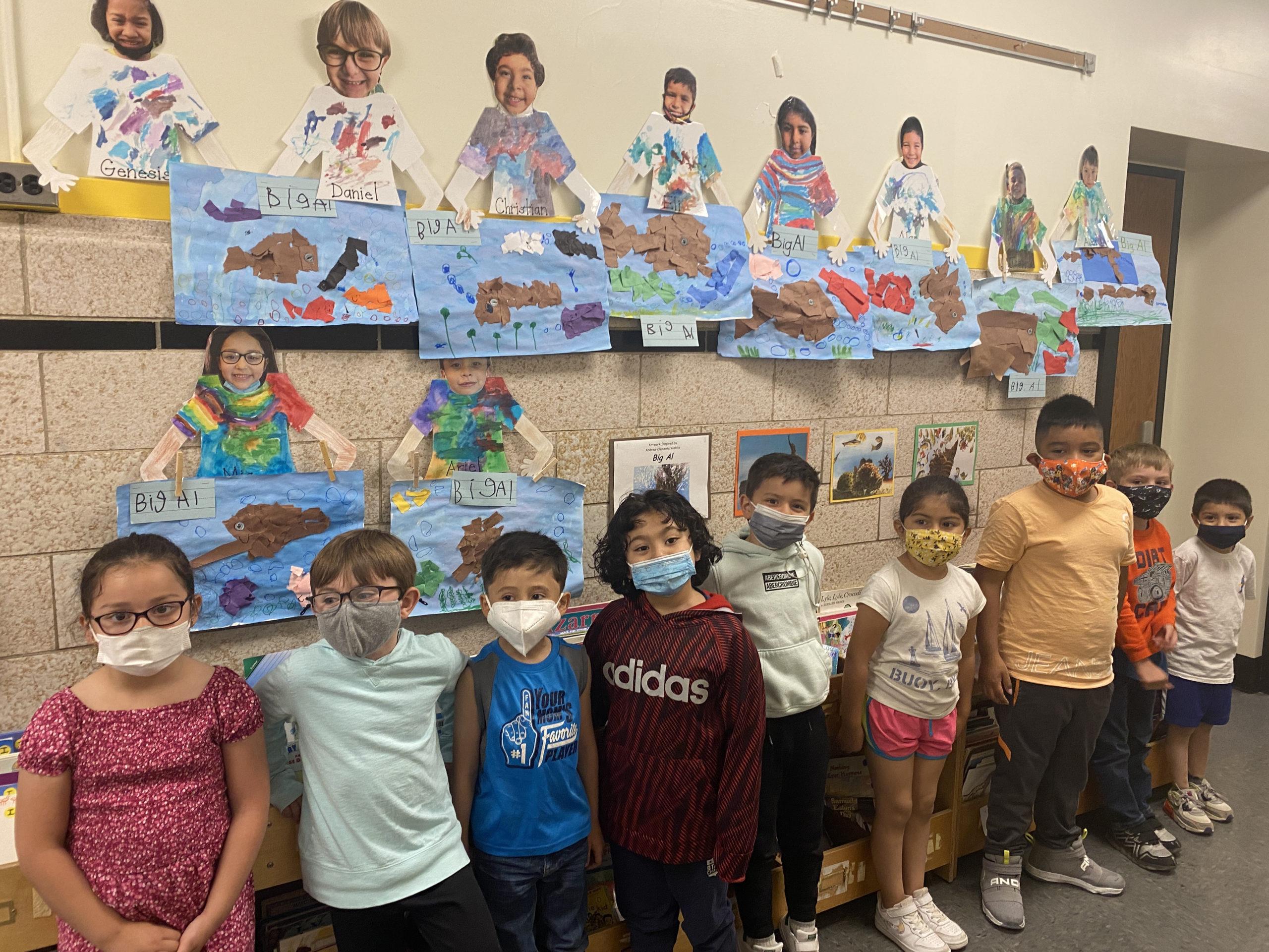 Bridgehampton School second graders celebrated their differences.