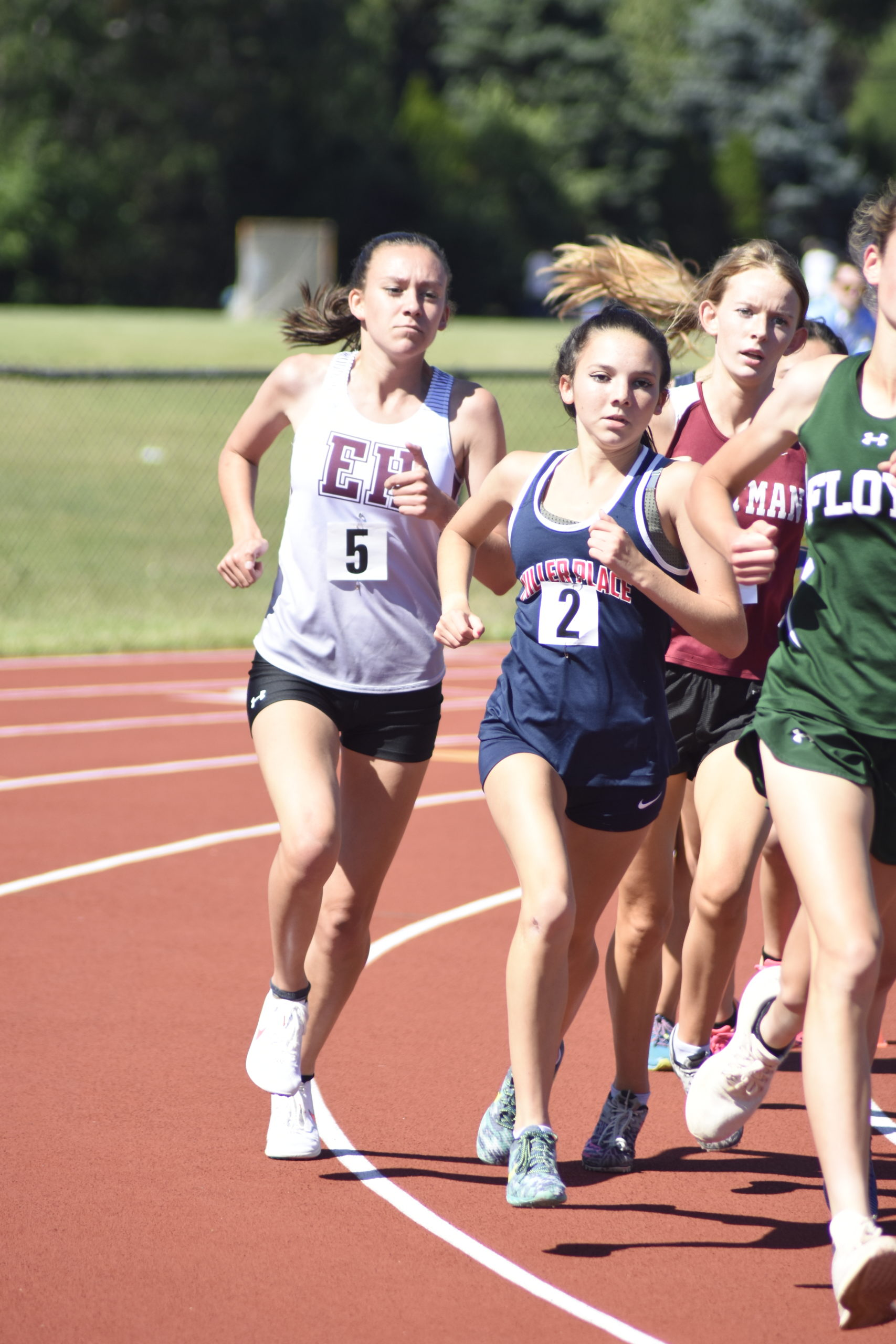 Pierson senior Penelope Greene placed third in the 3,000-meter race and sixth in the 1,500-meter race at counties.