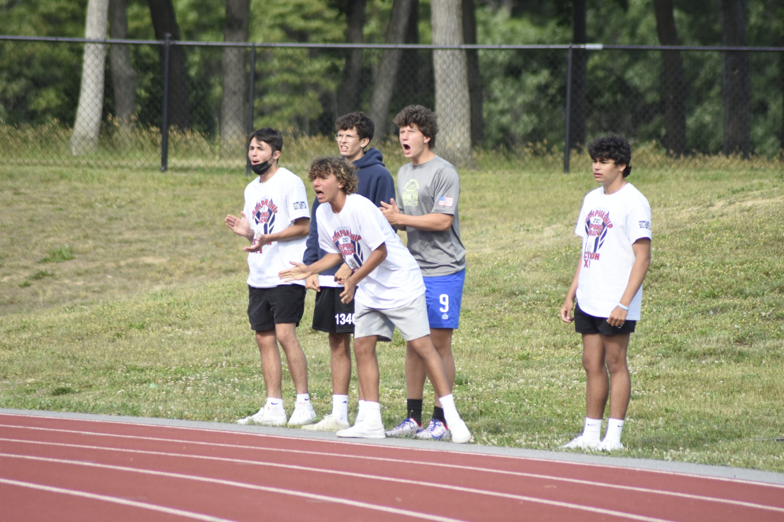 Derek Reed and Billy Malone had their Mariner teammates cheering them on at counties on Friday.