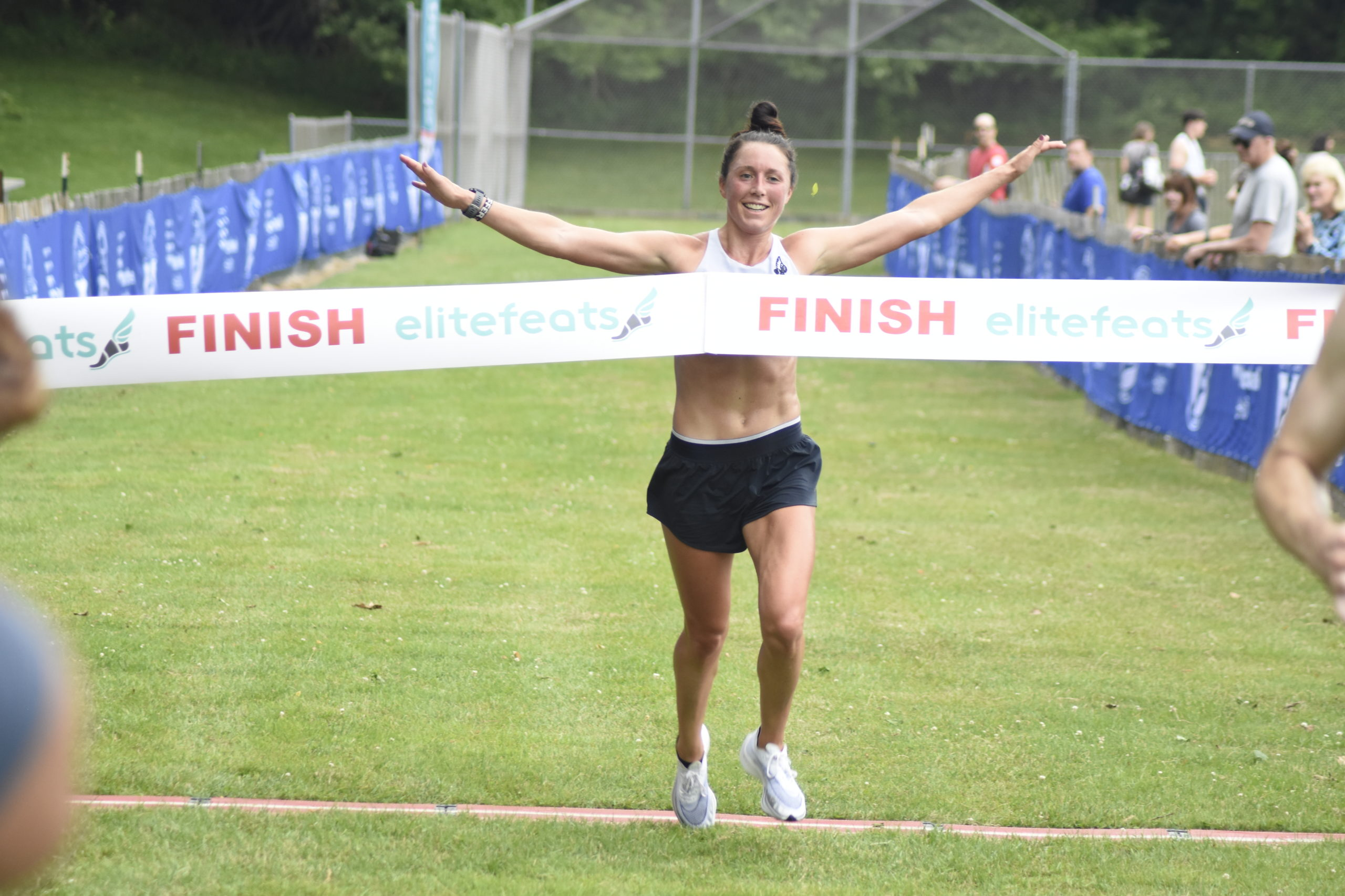 Allie Kieffer, 33, of West Islip was the women's champion of the Shelter Island 10K on Saturday.