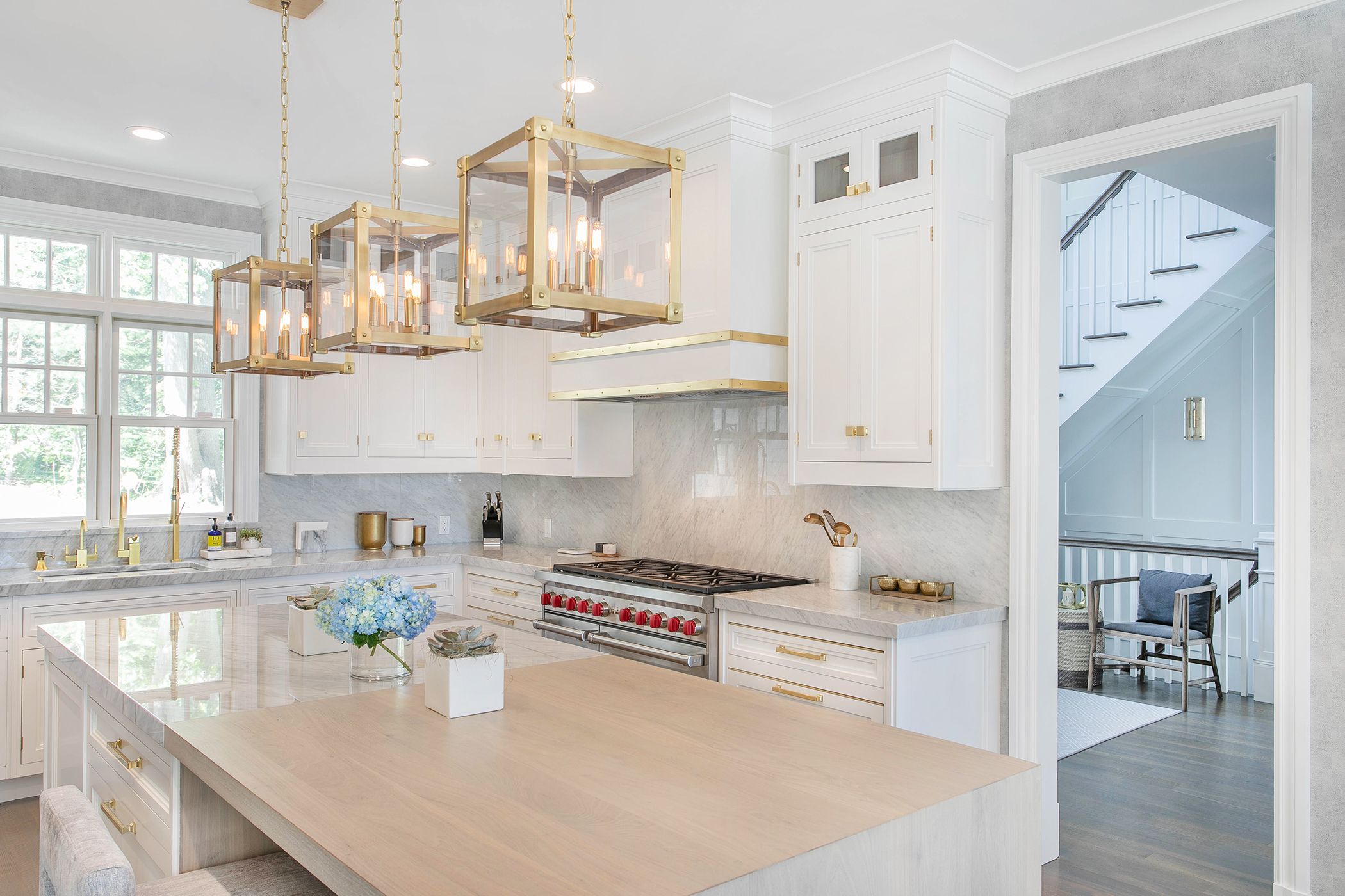 Kitchen designed by Bakes & Kropp in collaboration with Diane Guariglia of Dyfari Interiors. COURTESY BAKES & KROPP