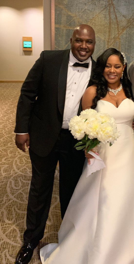Dr. Donald Williams and Dr. Latisha Ellis-Williams were married May 29, 2021 in Hanover, Maryland amongst an intimate gathering of friends and family. Ms. Ellis-Williams is a native of Bridgehampton and a graduate of the Bridgehampton High School Class of 1992.