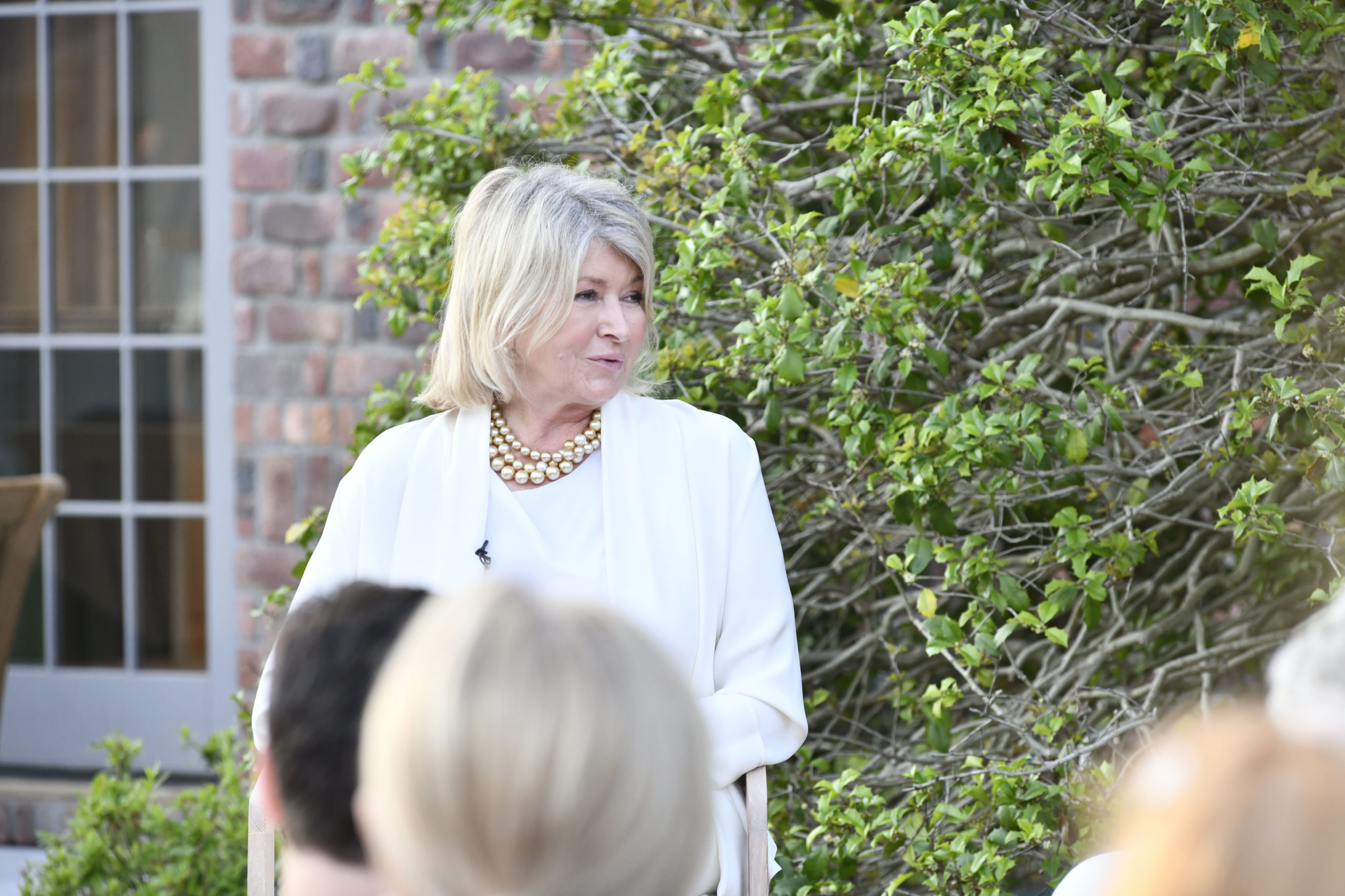 An authors' discussion led by Martha Stewart with Paul Goldberger,