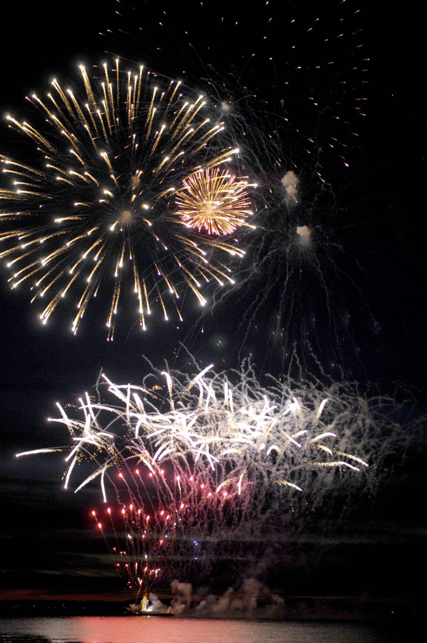 Some fireworks displays are back on for the summer.   DANA SHAW