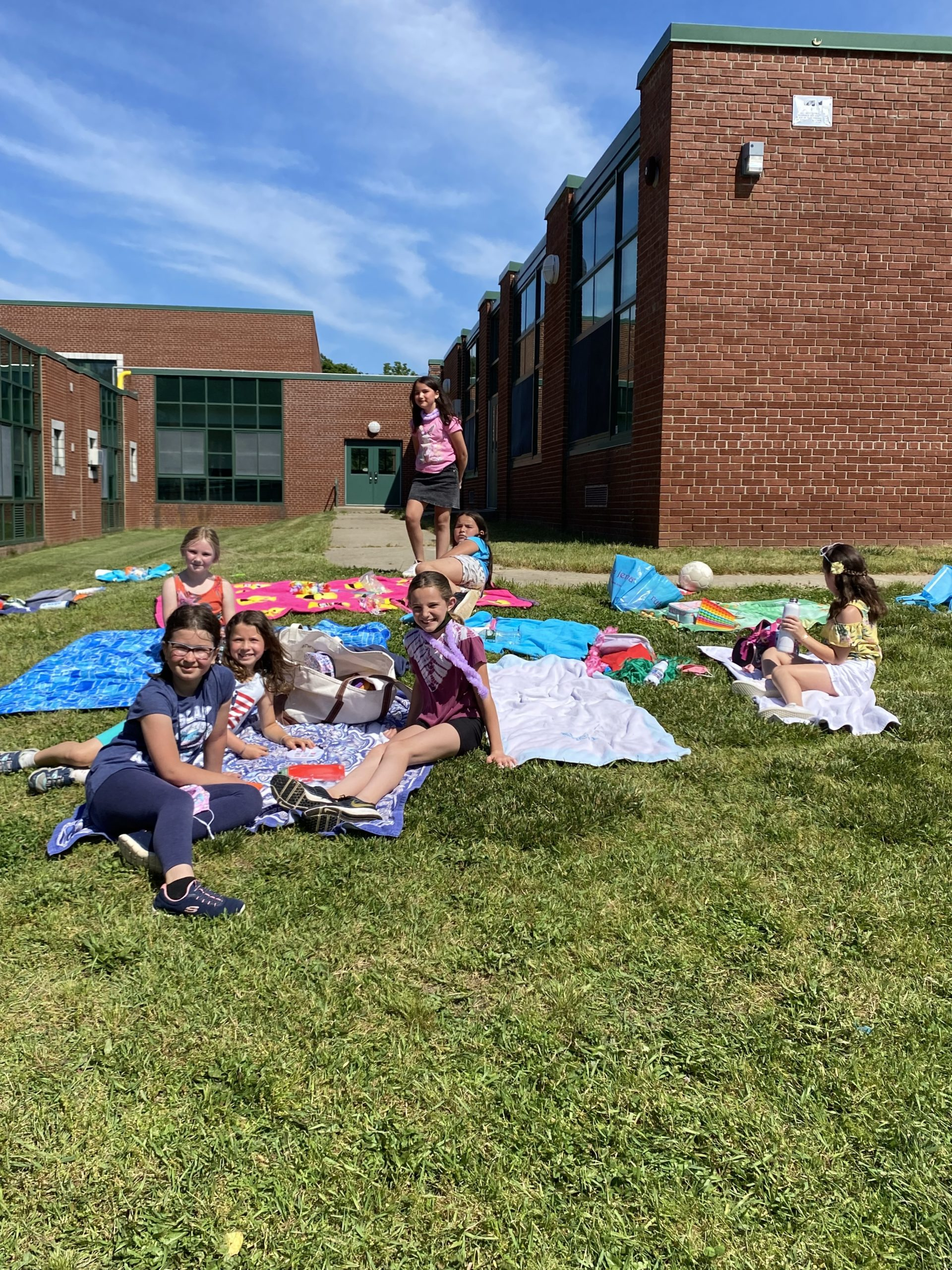 Third graders in Ms. Jennifer Luckingham's class at East Quogue Elementary School celebrated a  year together last week during the last week of school.