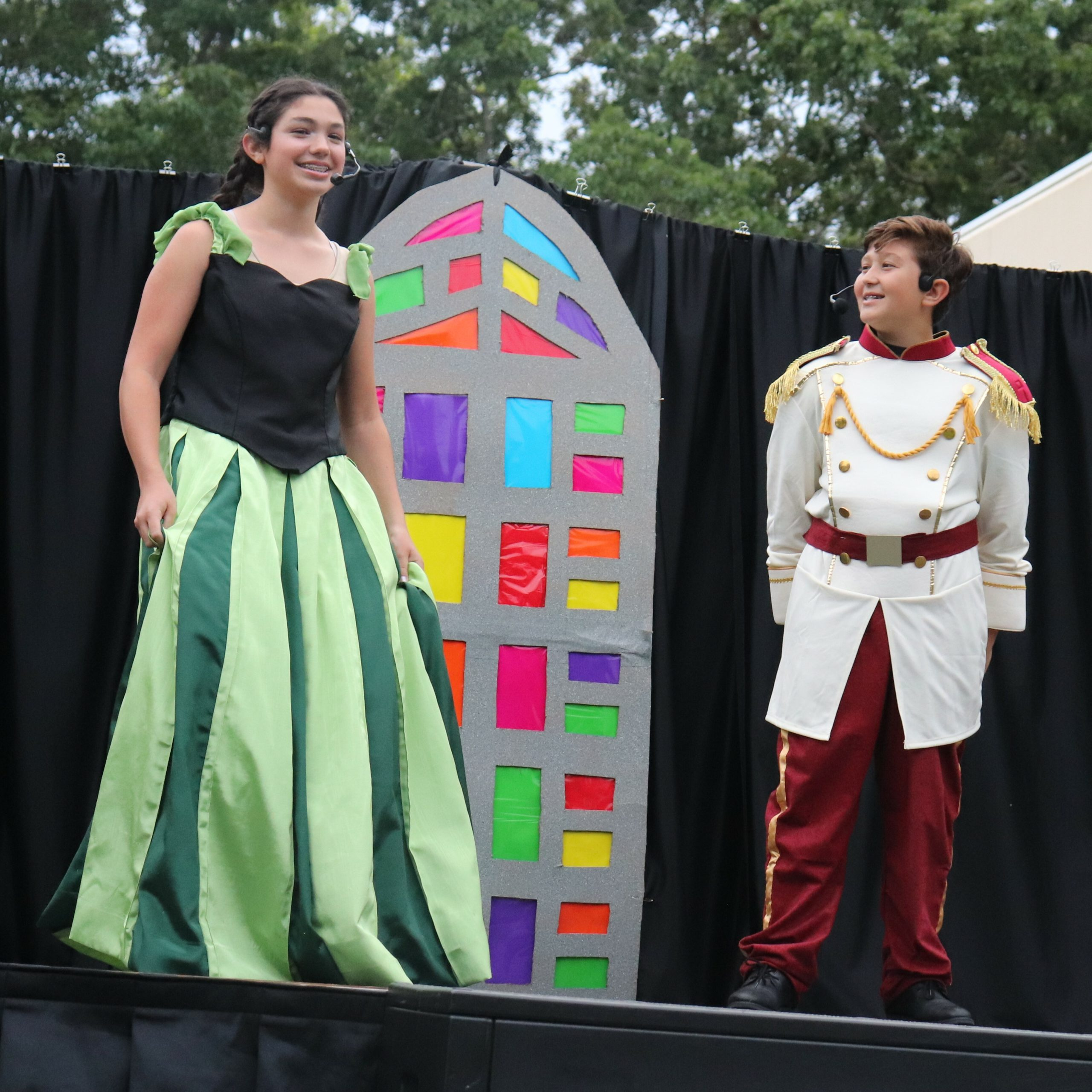 """Madison Lecci and Henry Broidy perform in Raynor Country Day School's """"Frozen, Jr:  A Musical Revue!"""""""