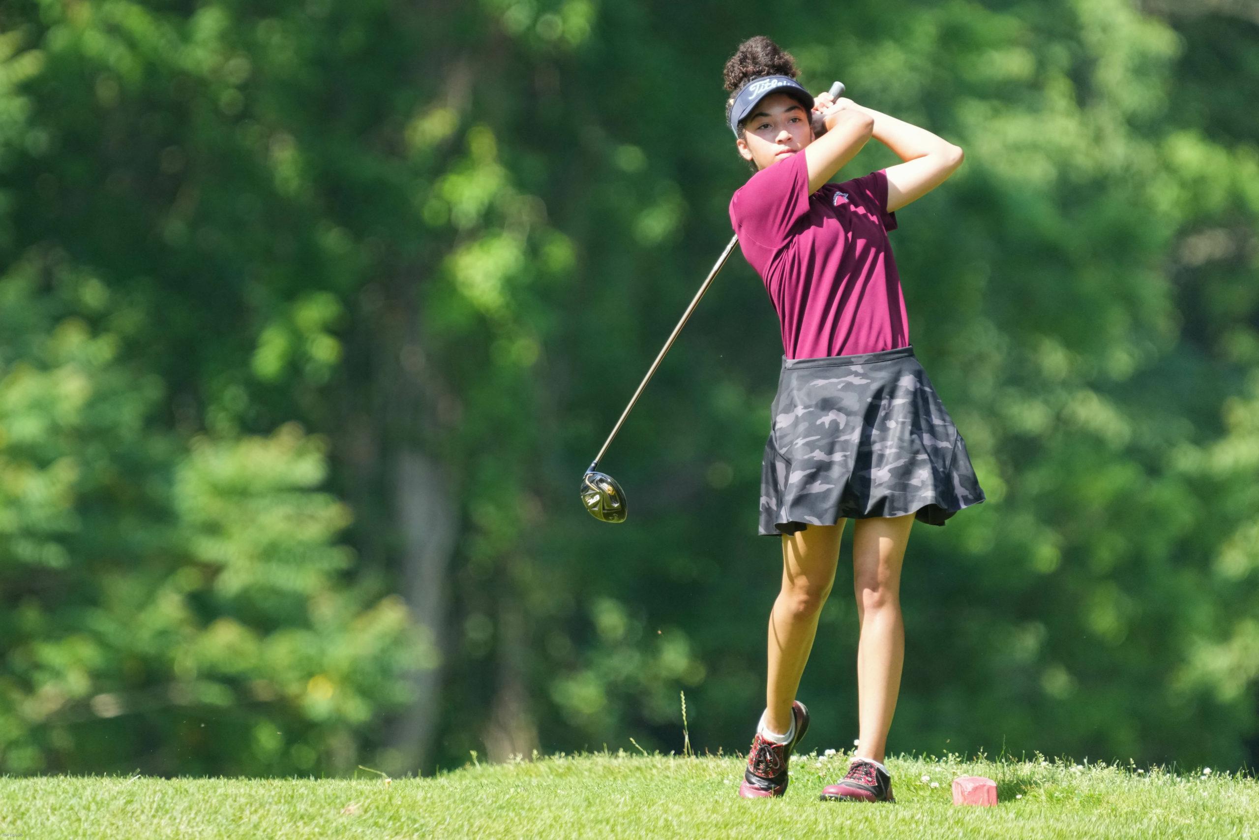 Southampton's Ella Coady won the Suffolk County girls golf individual title on Wednesday, June 9.