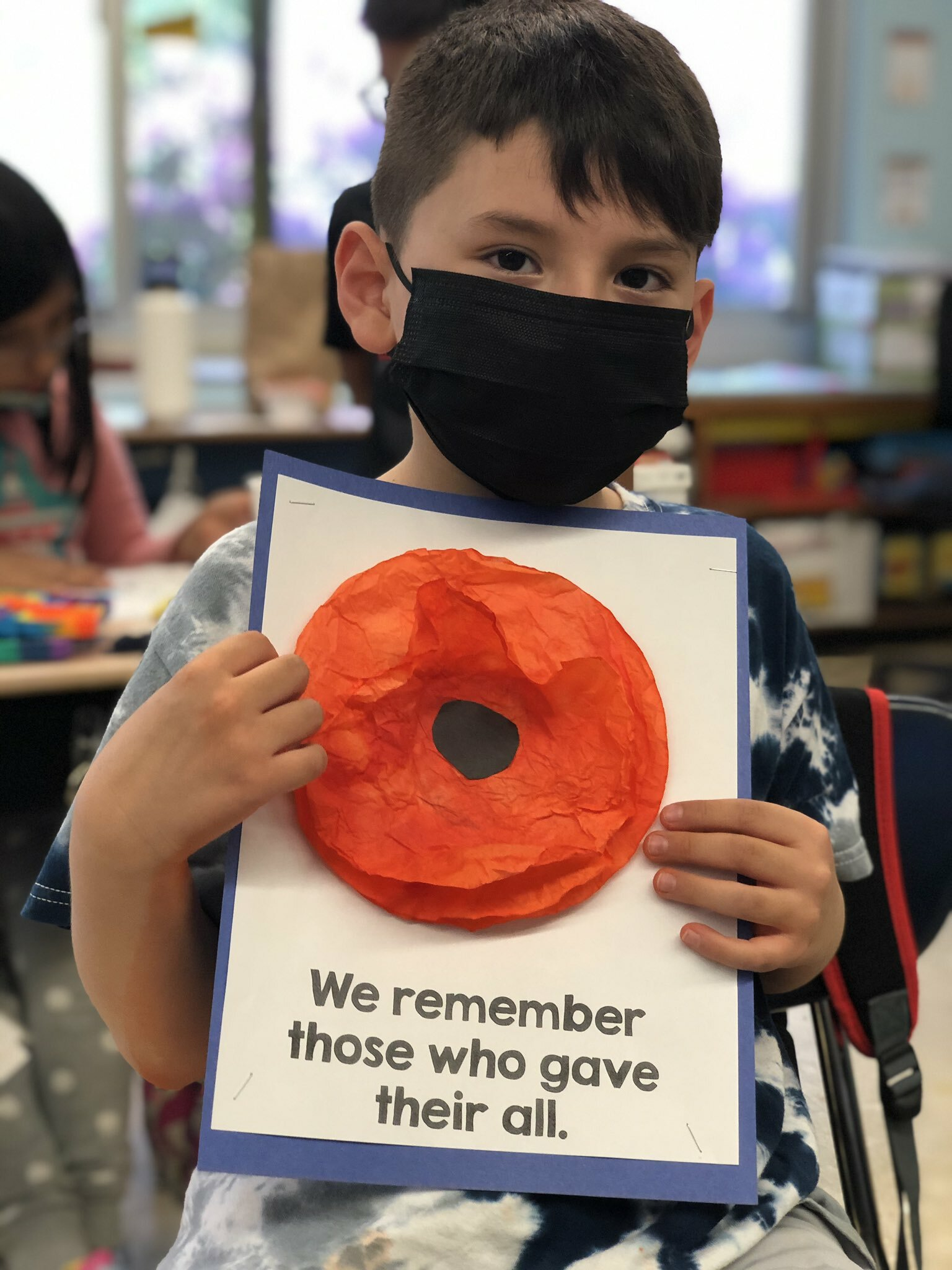 Hampton Bays Elementary School students recently learned more about Memorial Day and honoring those who served. In addition to the lessons, Erin McDermott's second grade class made red paper poppies, while Lauren Mikelinich's first graders designed red, white and blue paper plate wreaths.