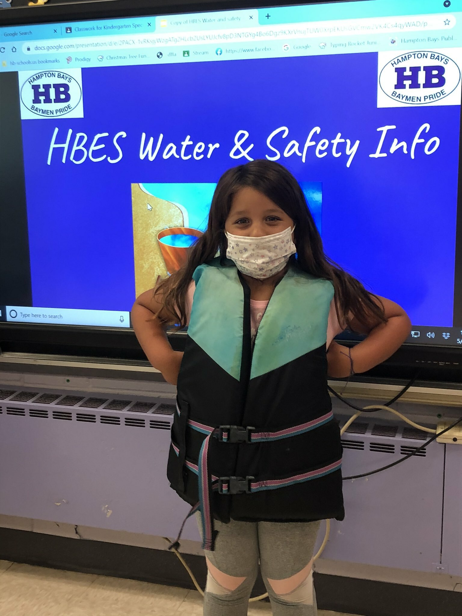 Students at Hampton Bays Elementary School received special lessons on boat and water safety through the Dominic Trionfo Memorial Fund. The nonprofit provided a variety of learning materials, including activity books and classroom kits, and engaged students in discussions about bike safety, tick safety, the importance of sunscreen and staying hydrated.