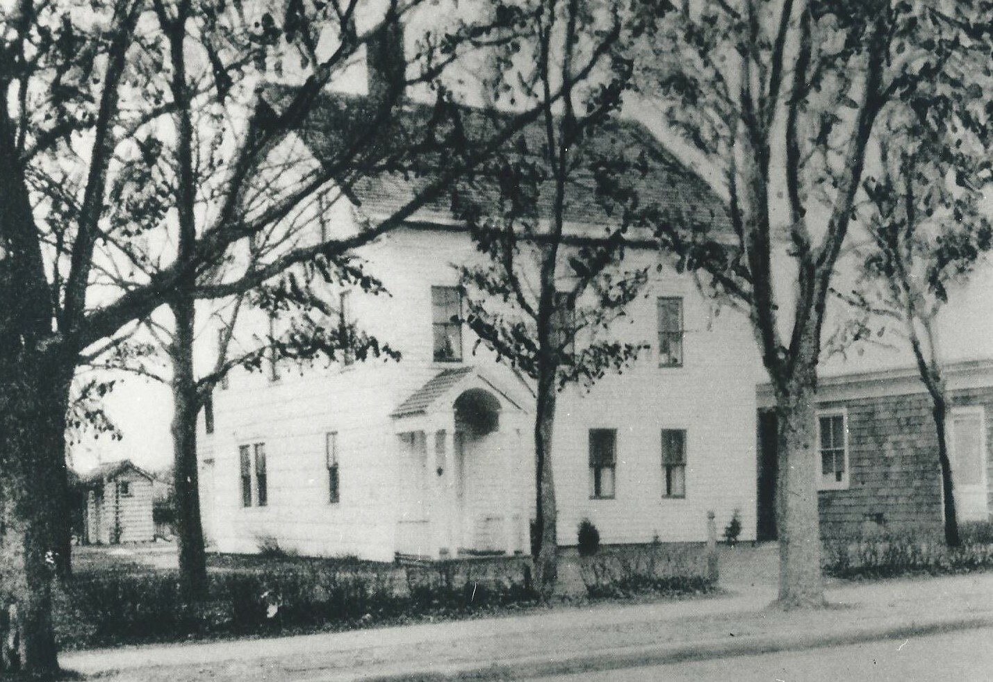 Part of the former Halsey Foster Homestead was East Quogue's first school.