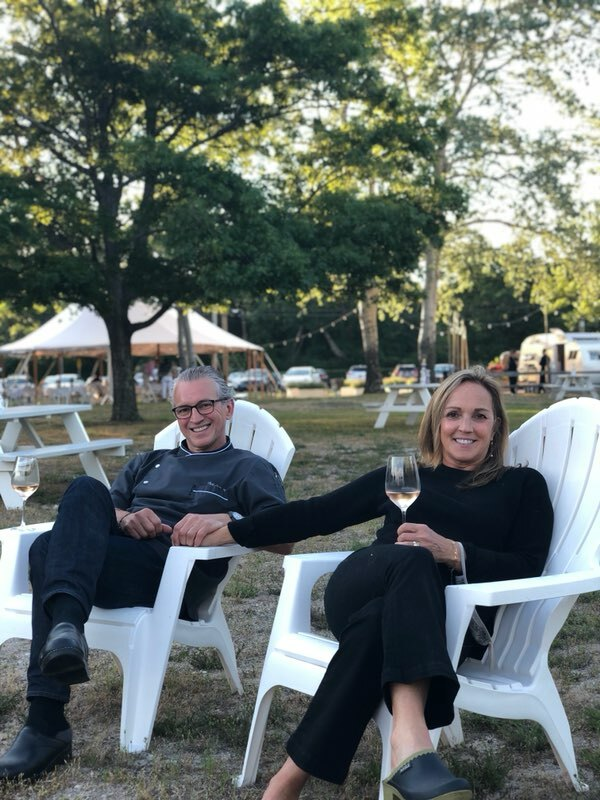 Owners Christian Mir and Elaine DiGiocomo celebrate the restaurants 25th anniversary