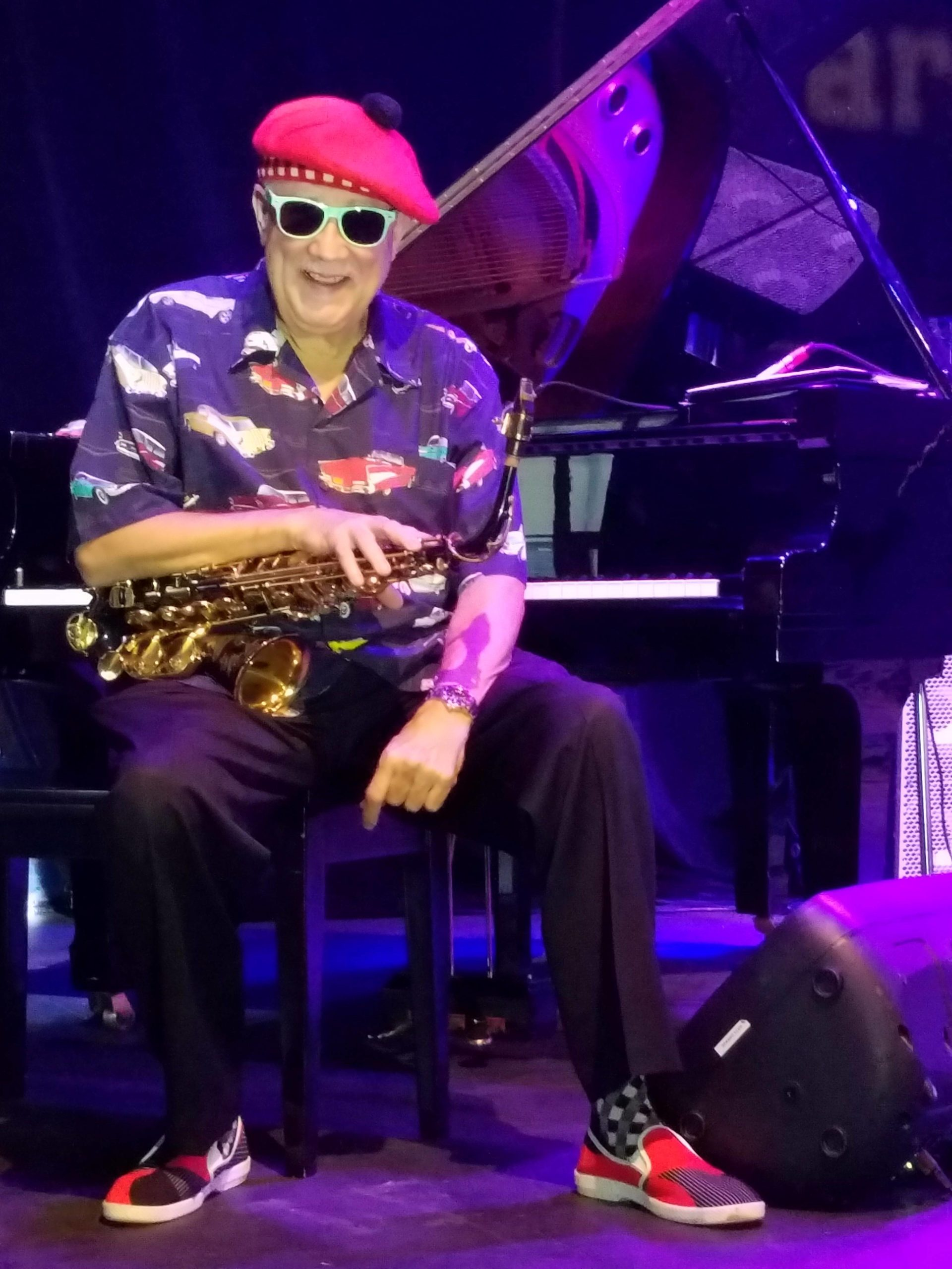 Paquito D'Rivera (headliner with Bill O'Connell Latin Jazz All Stars).