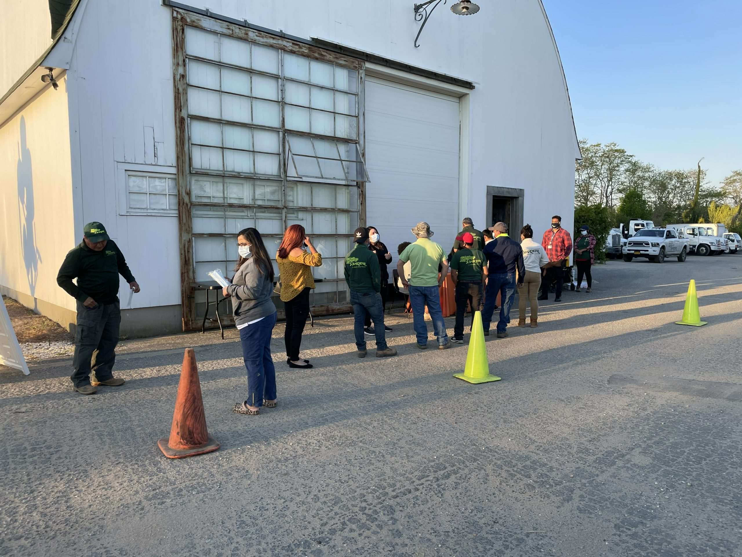 Marders in Bridgehampton hosted a COVID-19 vaccination pop-up last month.