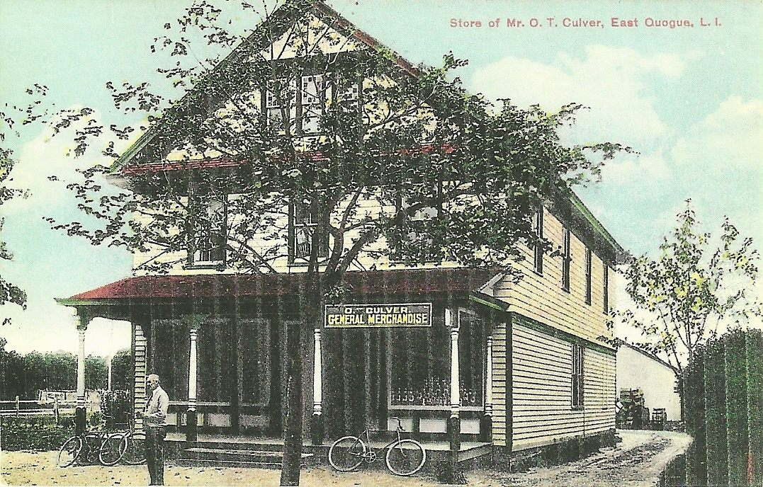 In the 1920s, the O.T. Culver Store was a popular spot to buy groceries and other household necessities. Today, it is the home of New Moon Cafe.