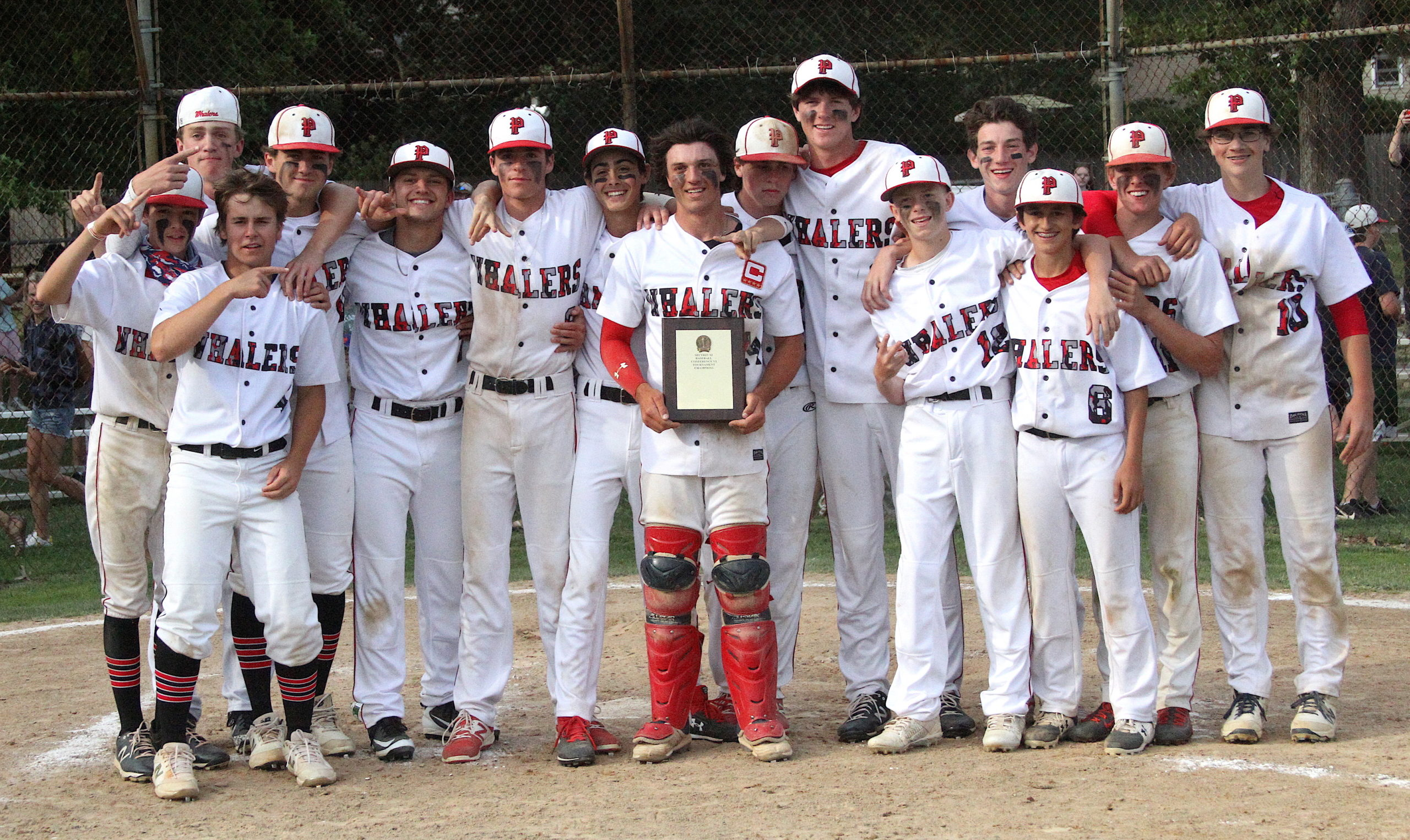 Pierson's baseball team bested Southold, 5-4, for the Whalers' second straight Suffolk County title. DESIRÉE KEEGAN
