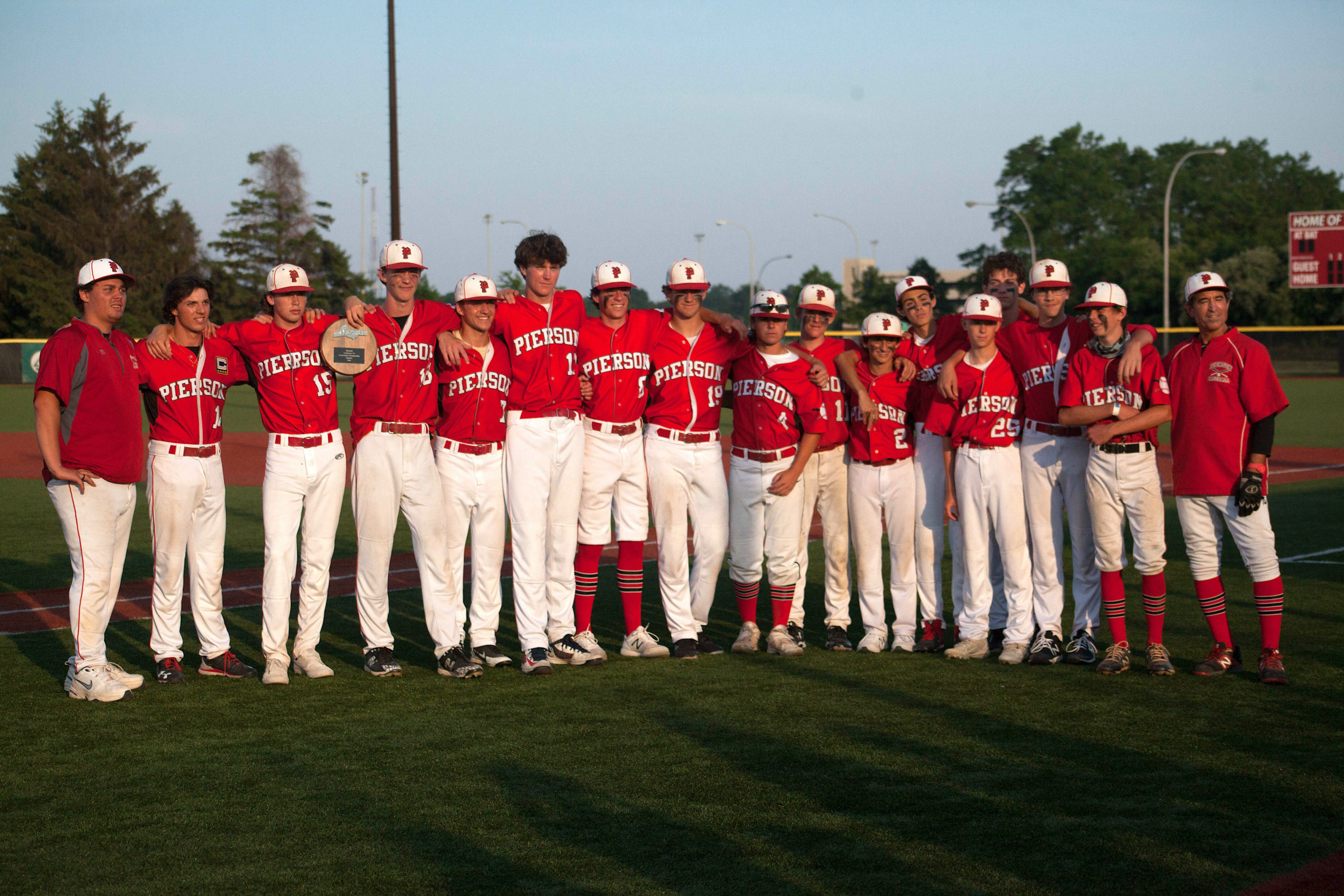 Pierson's baseball team fell 10-3 to Class B's Wheatley in the Long Island Championship game at the Mitchel Athletic Complex in Uniondale.