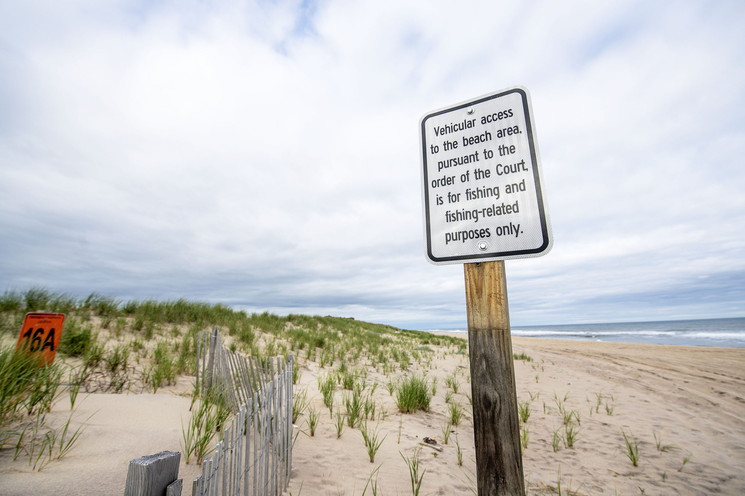 East Hampton Town has posted signs at