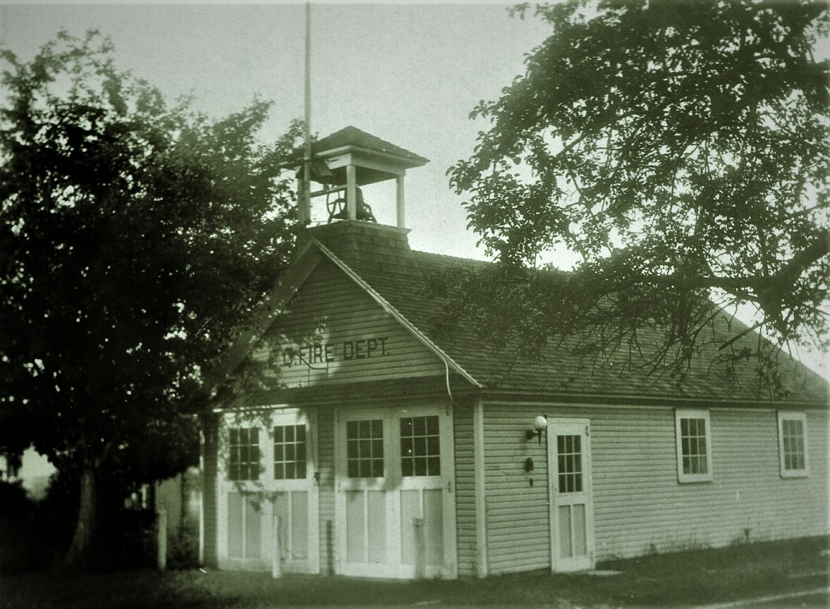 The original East Quogue Fire House still stands east of the current location as a private residence.