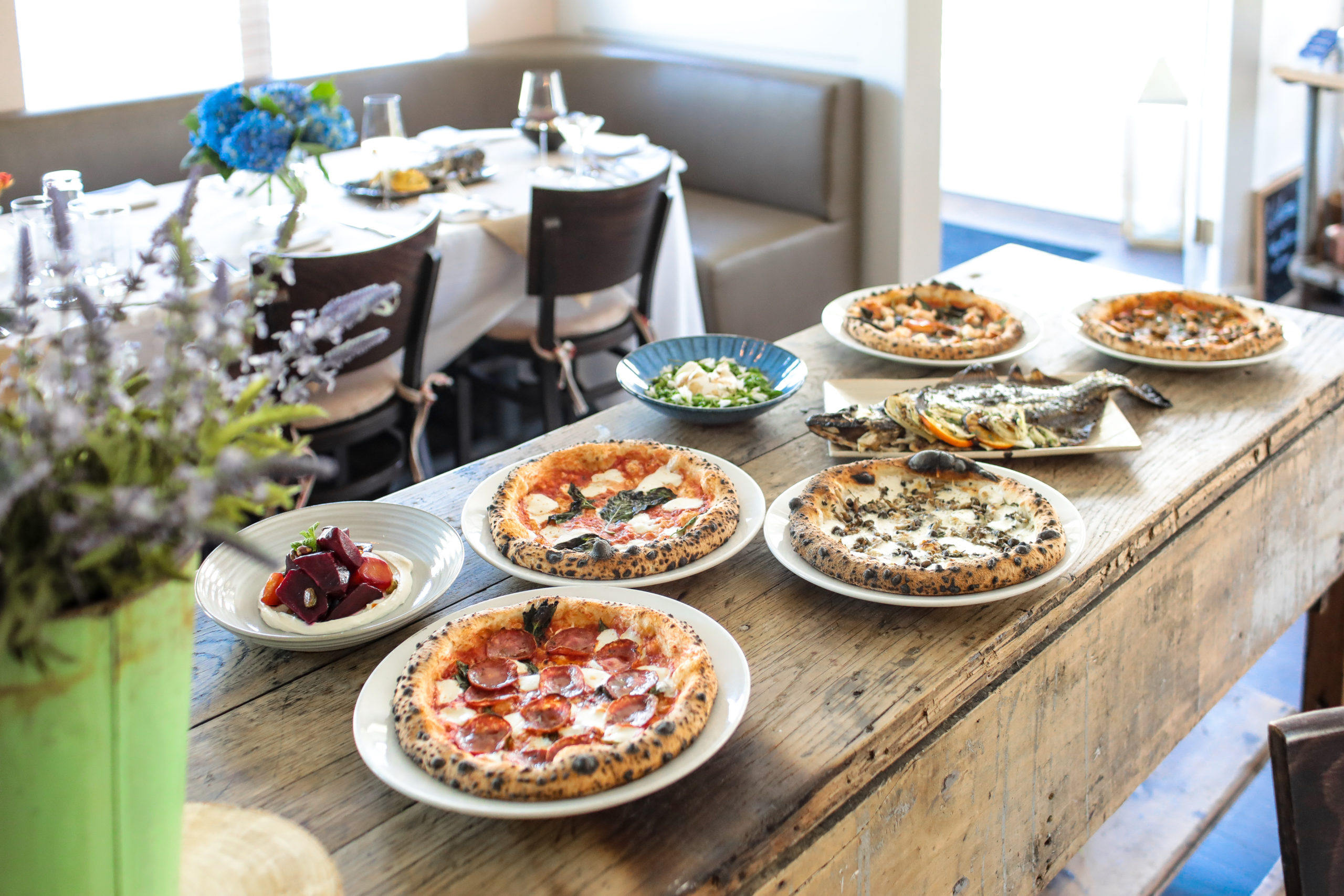 Pizzas and more at Highway Restaurant & Bar.