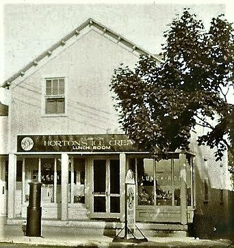 Lawson Horton's Ice Cream and Lunch Room opened in 1924.