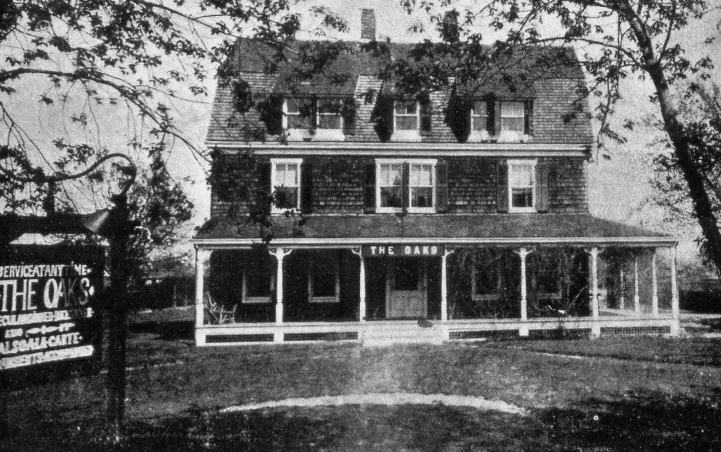 The Oaks, a former boarding house in East Quogue.