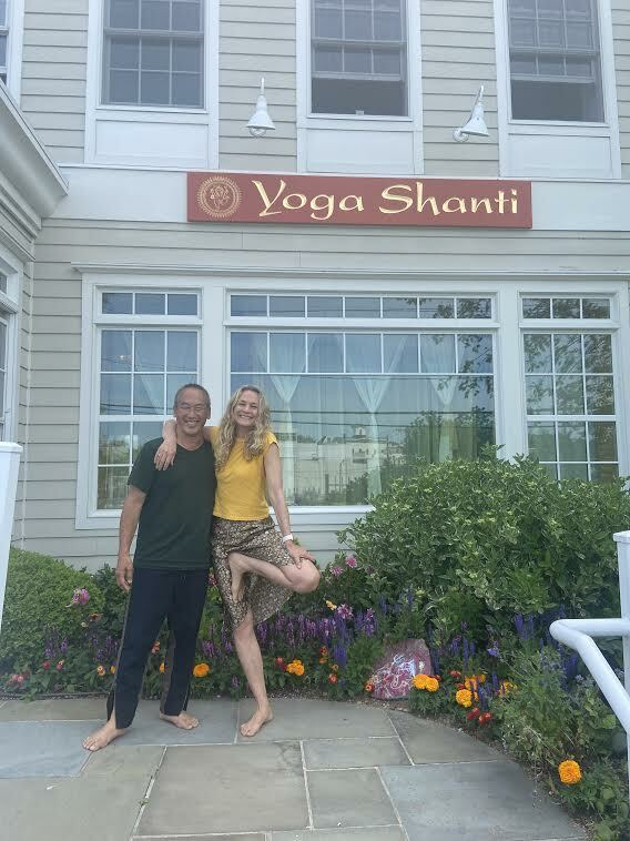 Colleen Saidman Yee finally reopened her yoga studio, Yoga Shanti, after being closed for more than a year