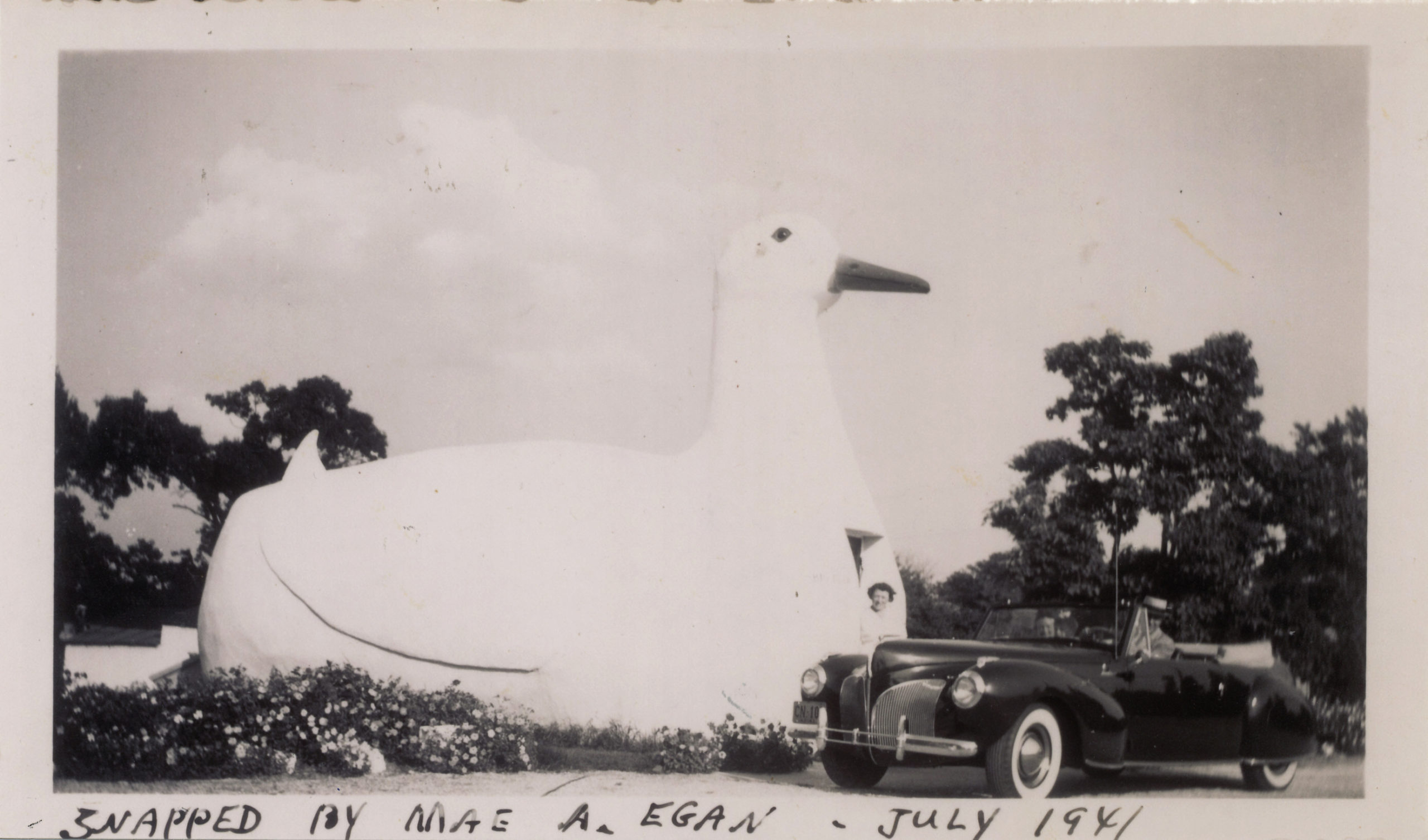 The Big Duck in 1941.