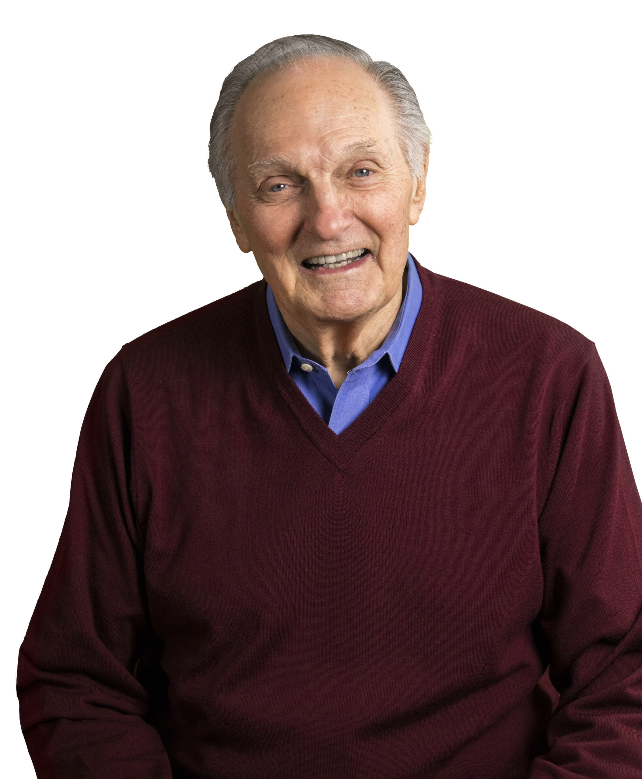 Alan Alda will offer narration to accompany Bach's Chaconne.