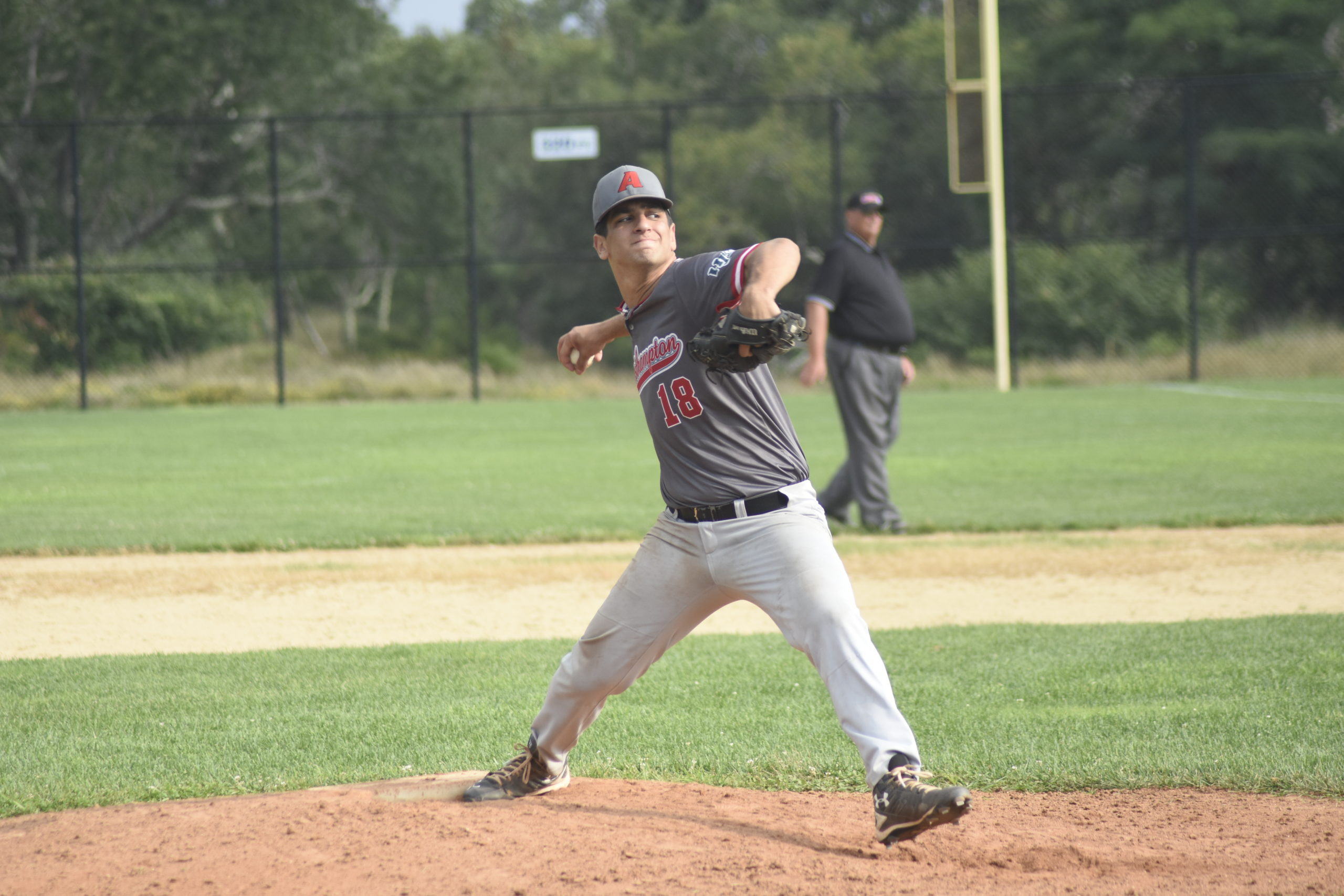 Justin Rosner (Binghamton) fired eight strong innings on Sunday with 10 strikeouts but took the tough-luck loss.
