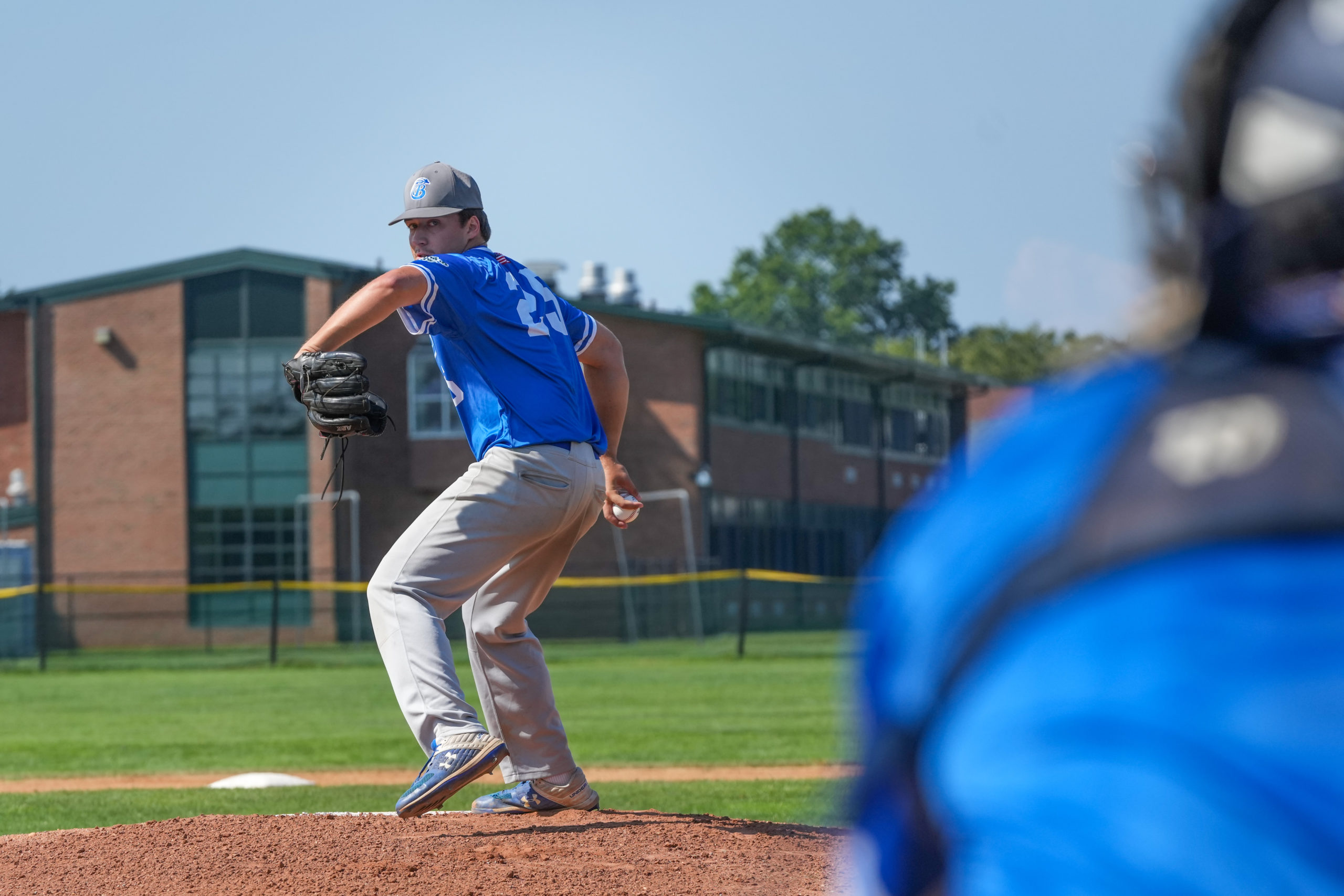 Southampton Breaker Matt Jachec (Indiana State) pitched a complete game shutout in game one of the HCBL semifinal series on Saturday.