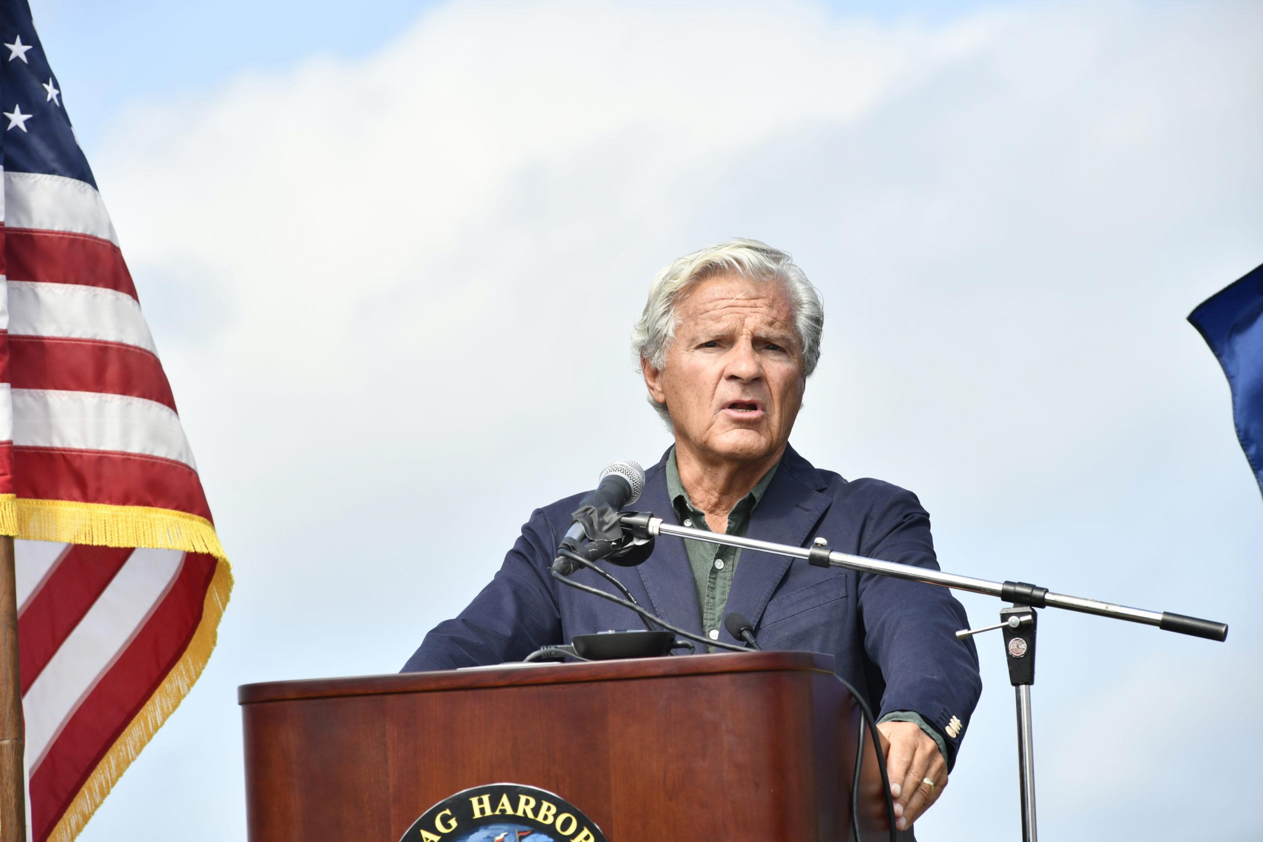 Mayor Jim Larocca.    DANA SHAW