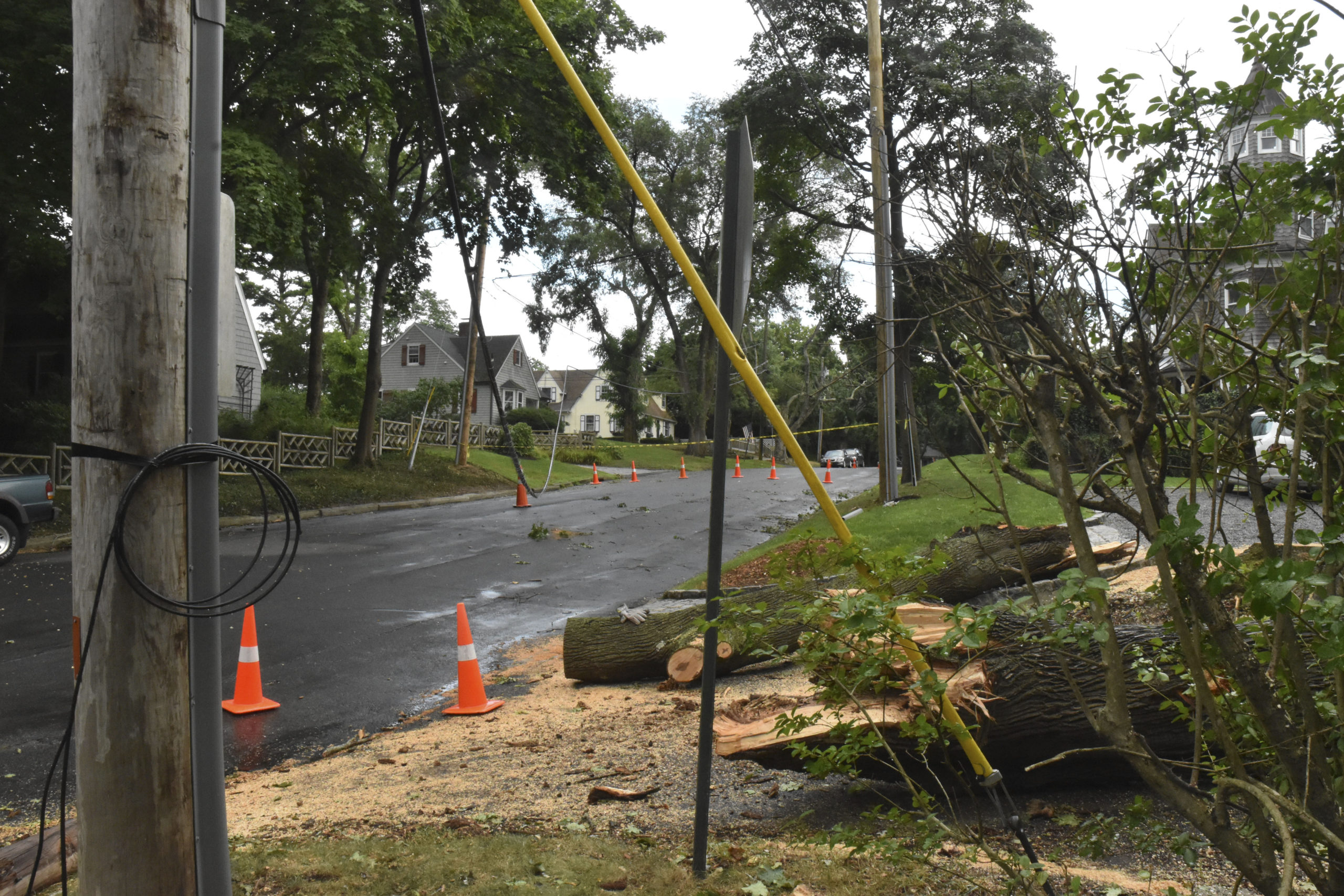 The Long Island Power Authority will continue working with PSEG-Long Island, despite LIPA's recent report that outlines PSEG-LI's failures to prepare for, and adequately respond to last years Tropical Storm Isaias.   EXPRESS FILE