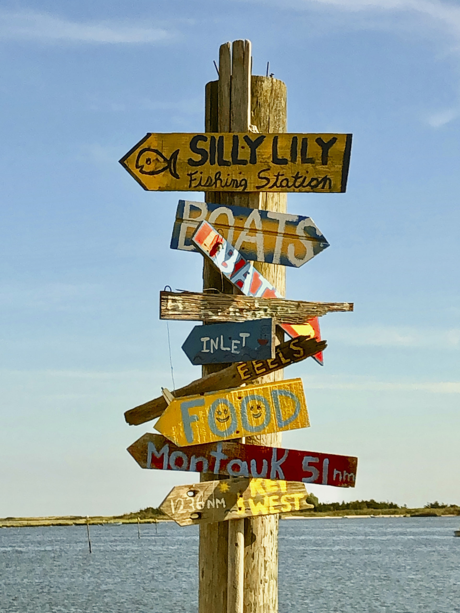 Silly Lily is a 1930s fishing station in East Moriches that has been brought back to life.