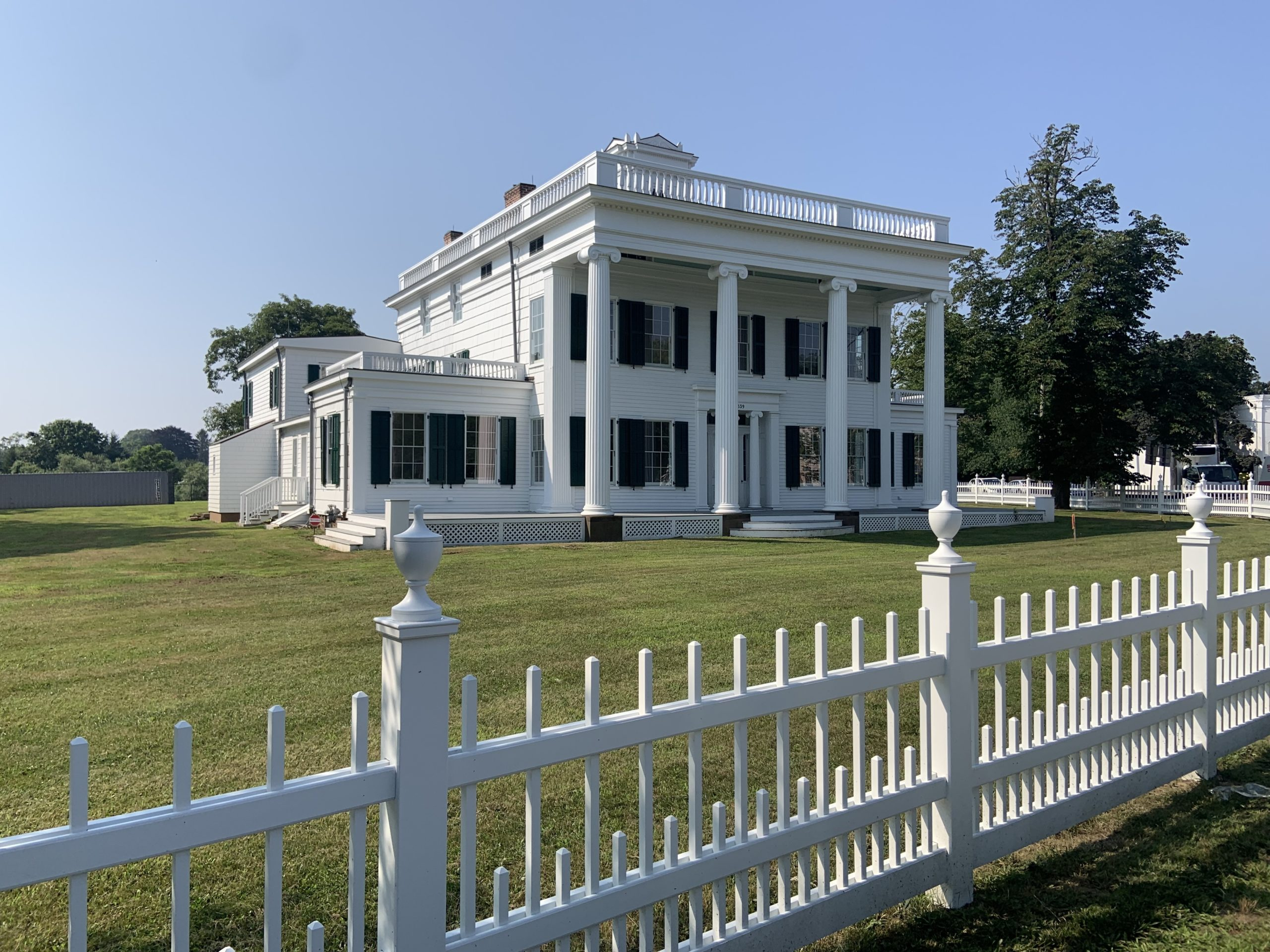 The Nathaniel Rogers House, the new home of the Bridgehampton Museum, as seen from Montauk Highway. STEPHEN J. KOTZ