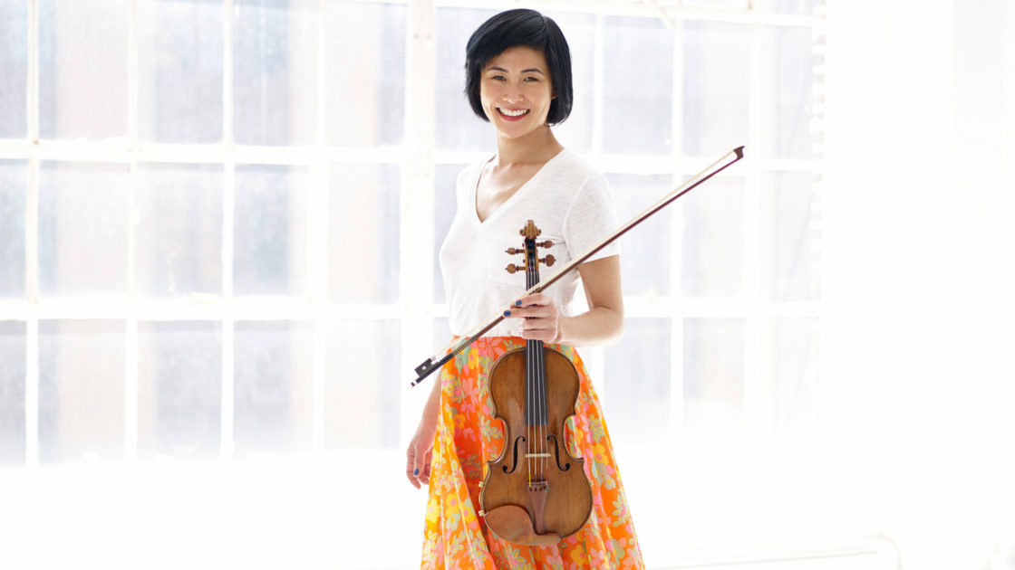 Violinist Jennifer Koh will perform Bach's Chaconne.