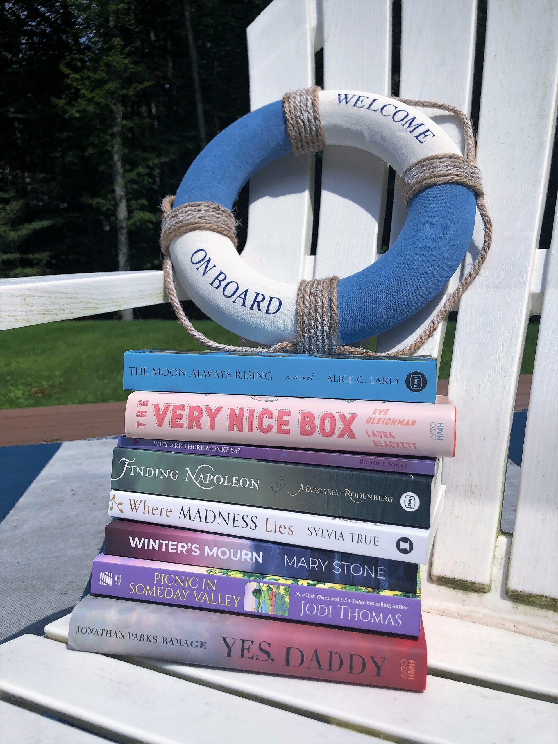 The Bedside Reading book selection for July 23.