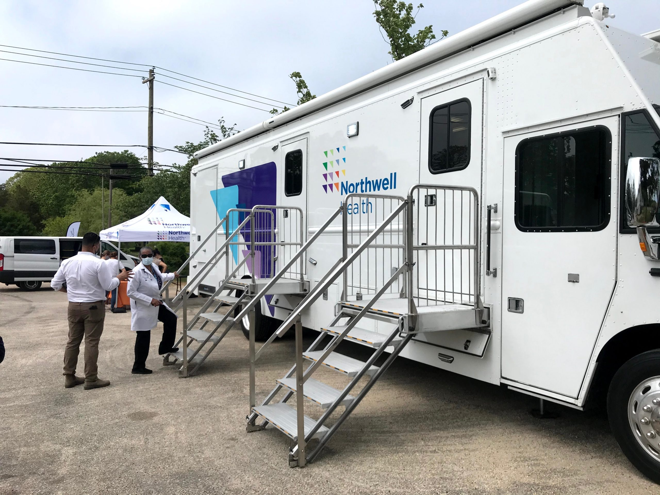OLA of Eastern Long Island and Northwell Health conducted a vaccination POD at the Springs Food Pantry earlier this year in an effort to reach unvaccinated individuals in the Latino immigrant community.