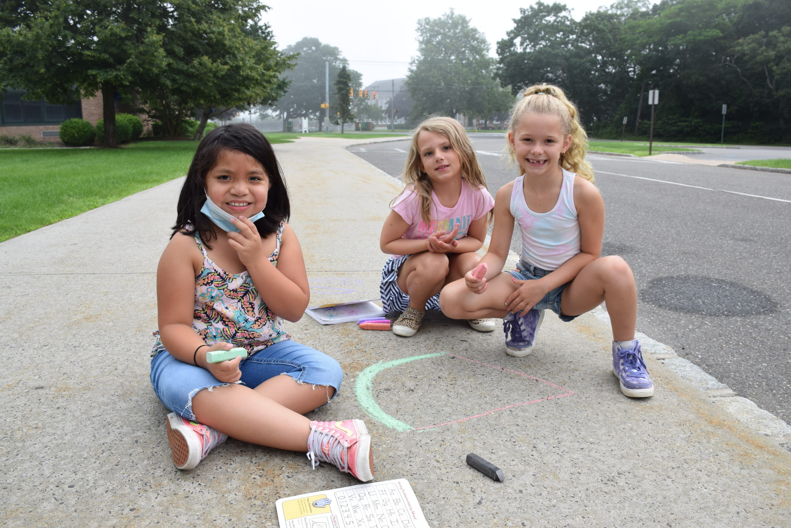 Summer Learning in Westhampton Beach Photo caption: Westhampton Beach Elementary School students have been honing their academic skills through the district's Summer Academy program.