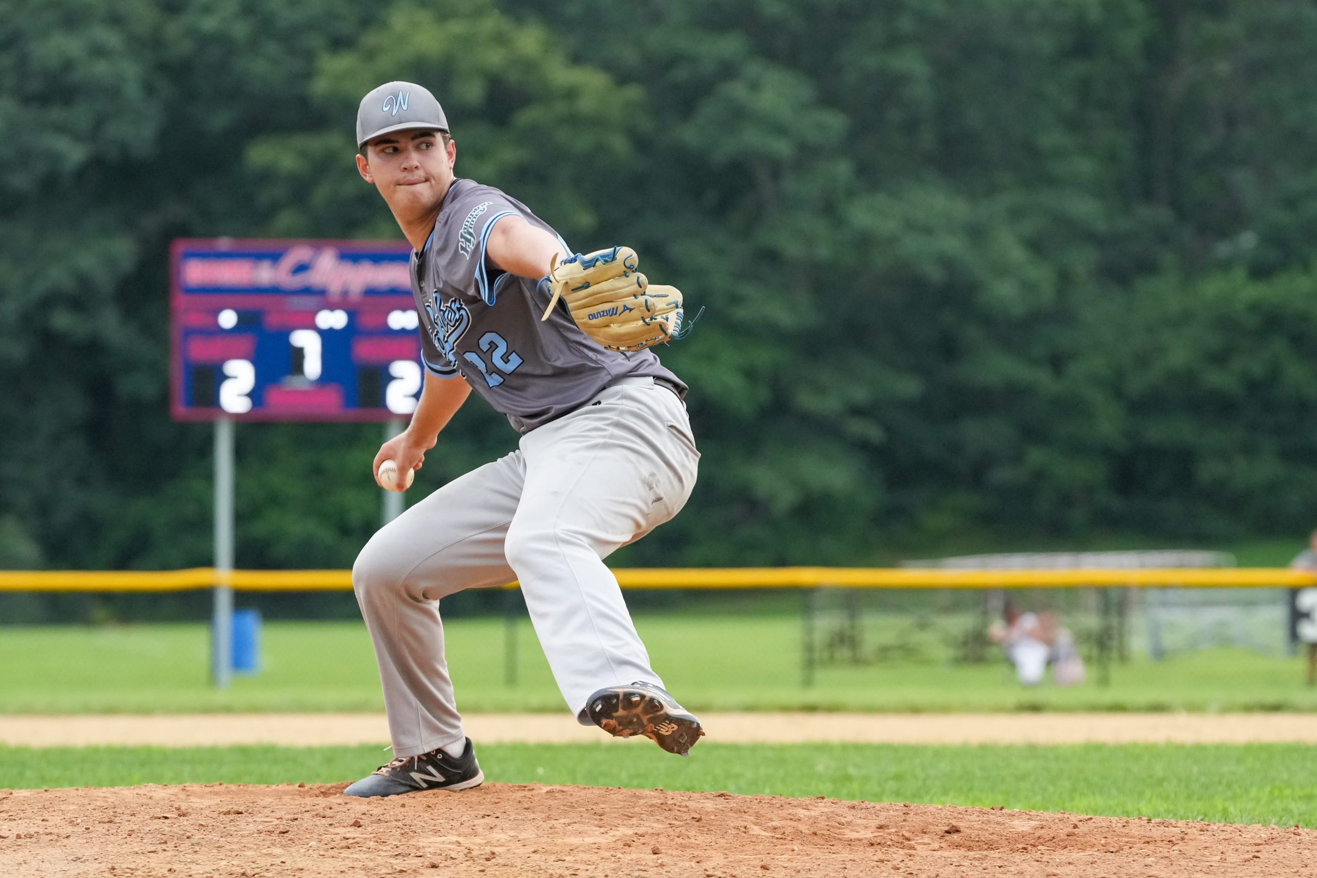 Tyler Cortland pitched five scoreless innings of relief to earn the win for the Whalers on Thursday.