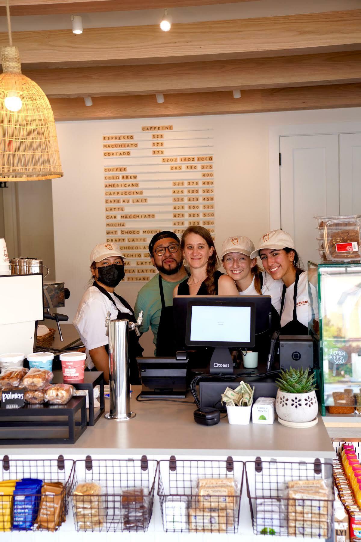 Caffeine Westhampton opened on July 12th.