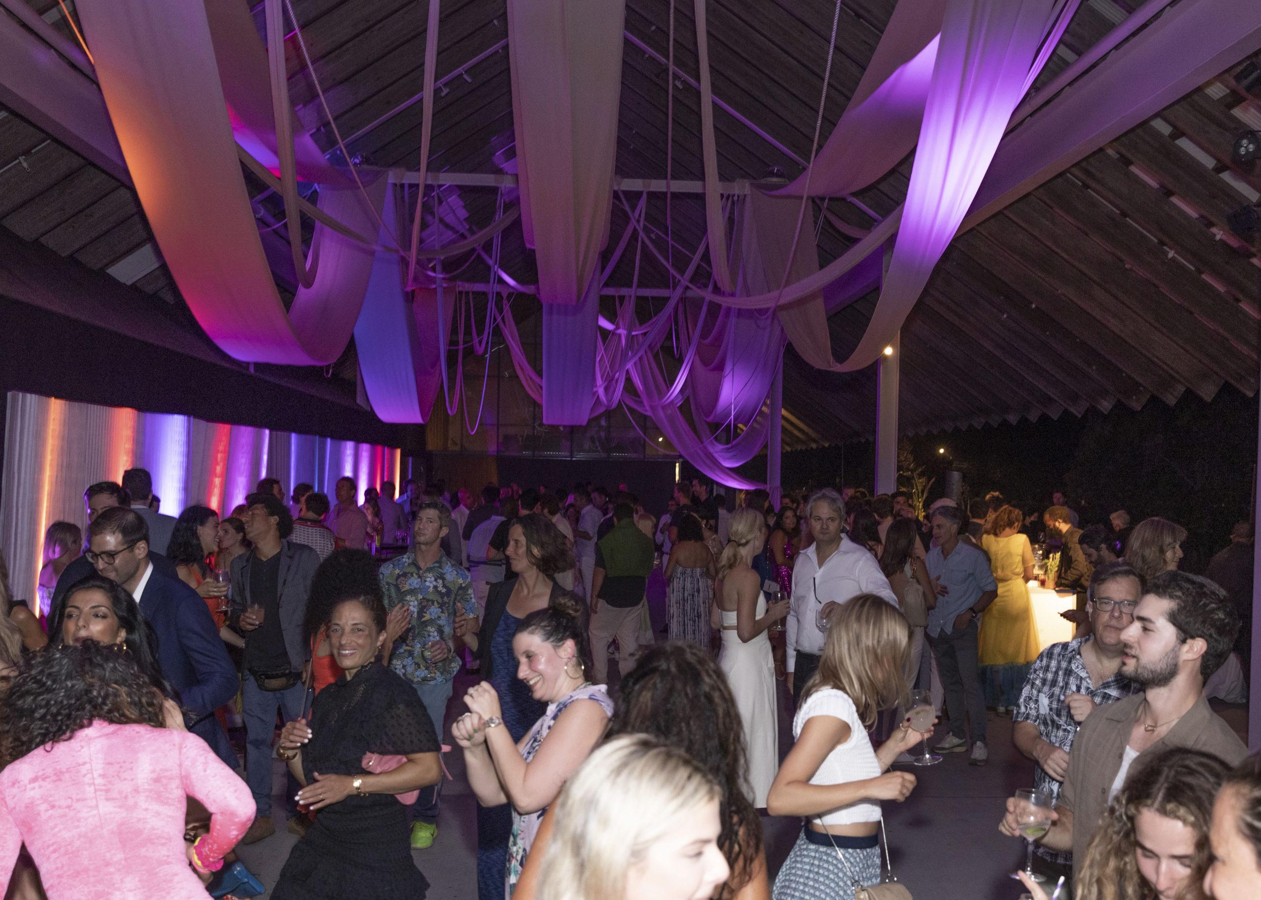 The Parrish Art Museum's Midsummer Dance on August 13 featured a DJ Set by James Murphy (DFA Records/LCD Soundsystem).   YVONNE TNT/BFA.COM COURTESY PARRISH ART MUSUEM