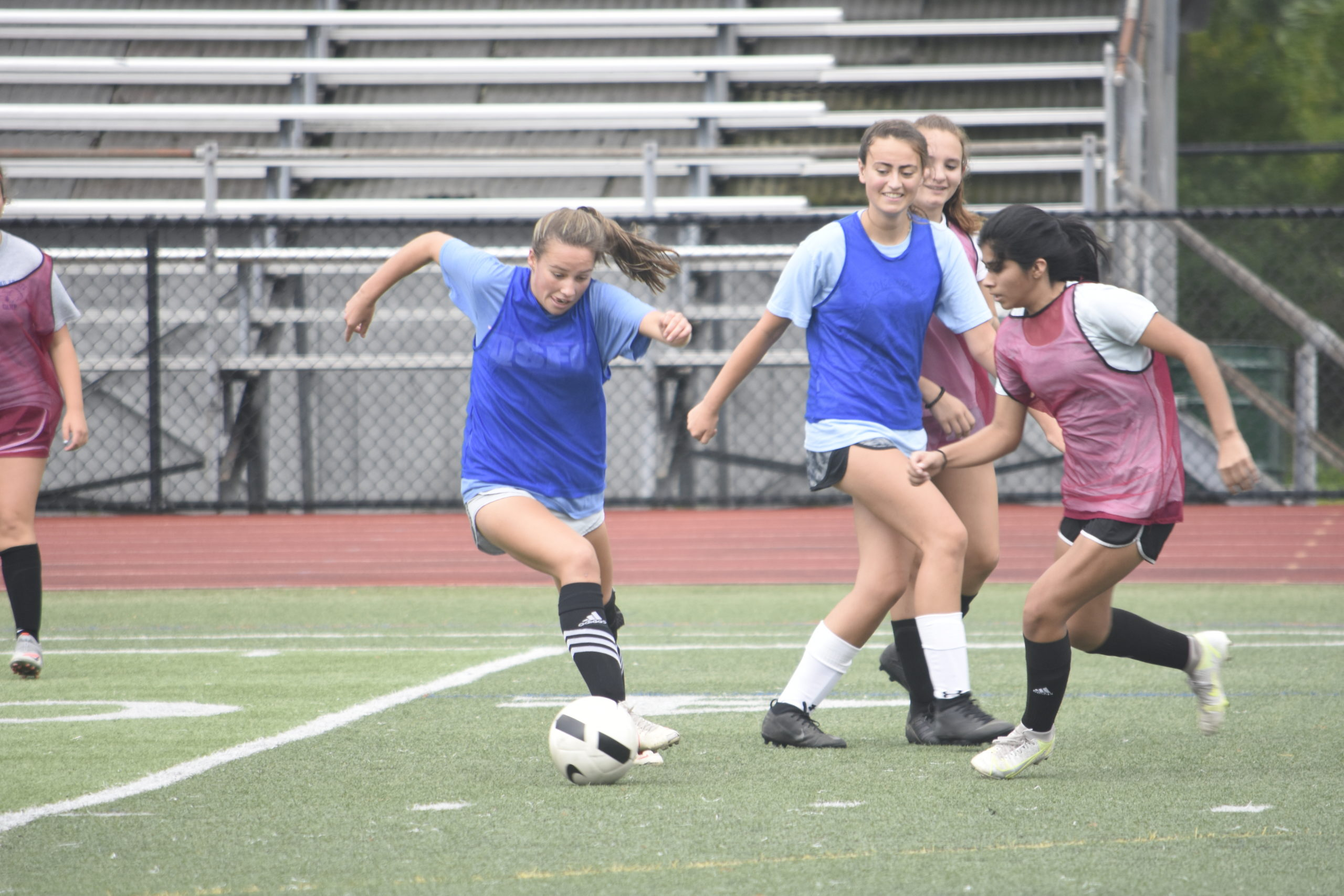The fall high school sports season officially began on Monday.