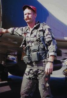 Bernie next to his F-4.