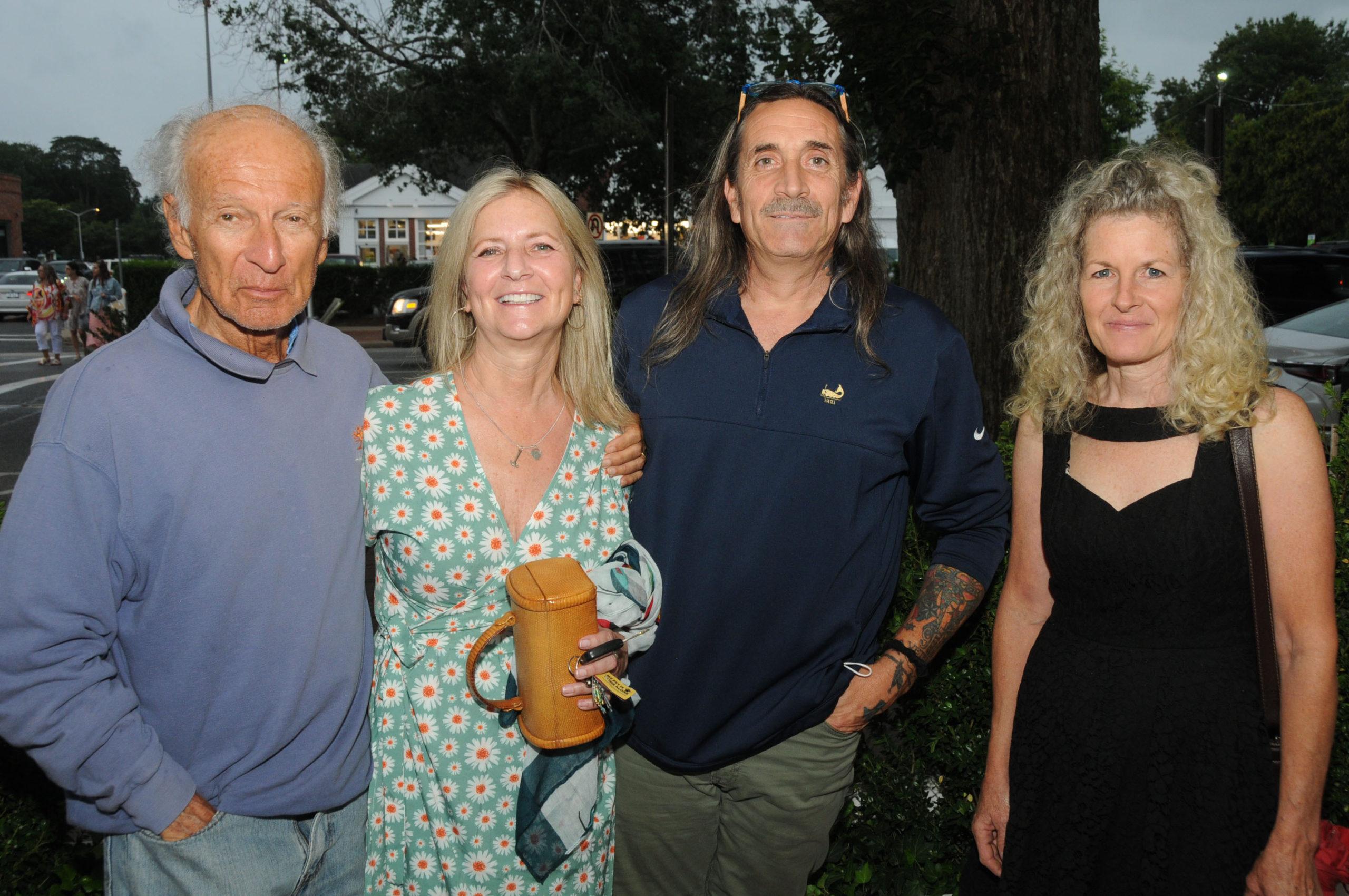 On July 29,  legendary concert promoter Ron Delsener hosted a private dinner, celebrating