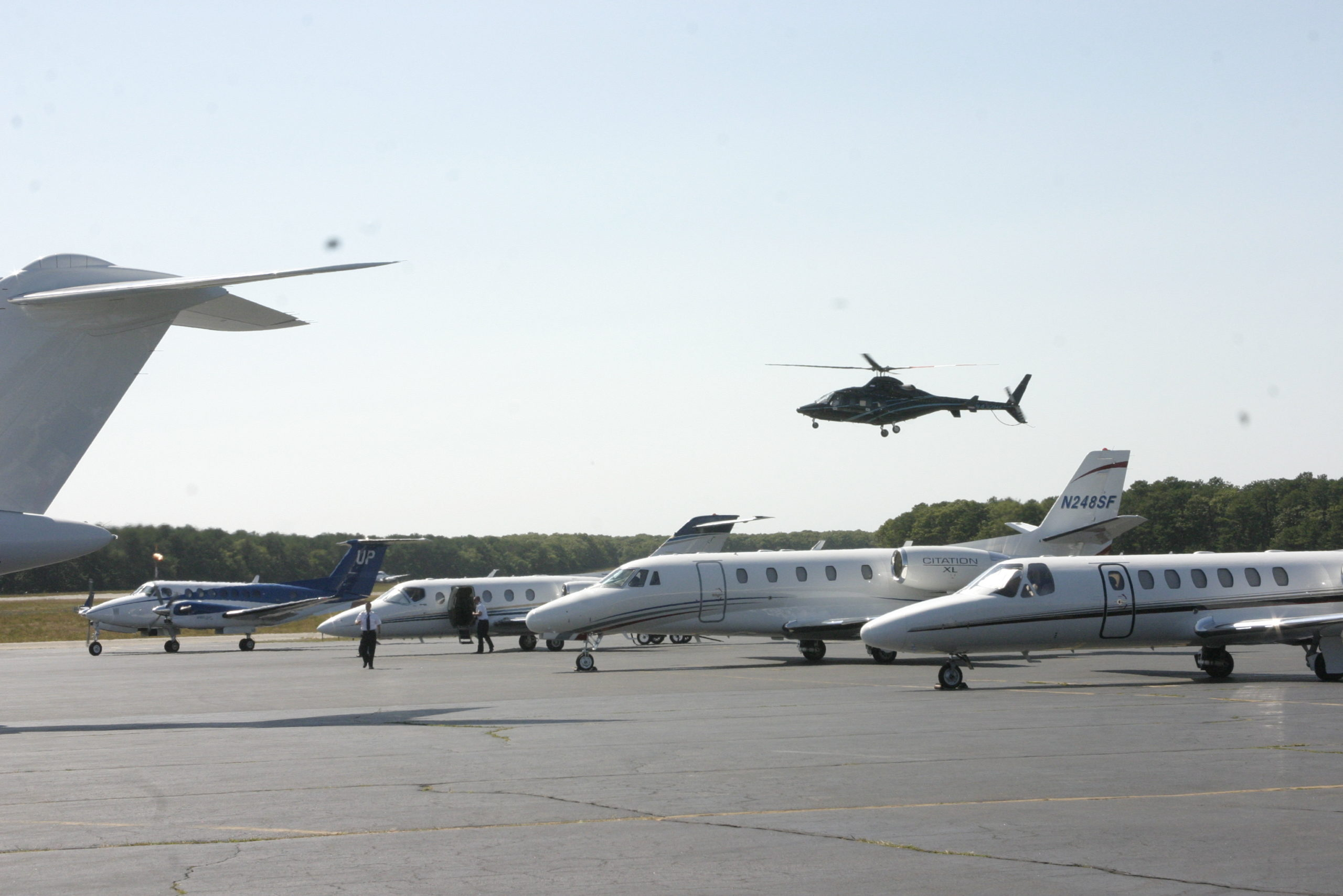 The East Hampton Airport. FILE PHOTO