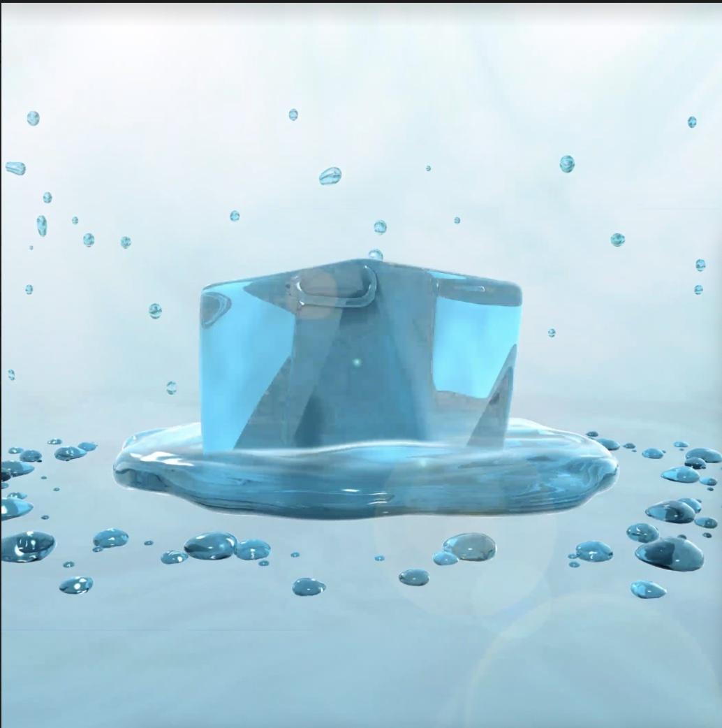 "Nicole Cohen ""Water Essential,"" NFT 2021."