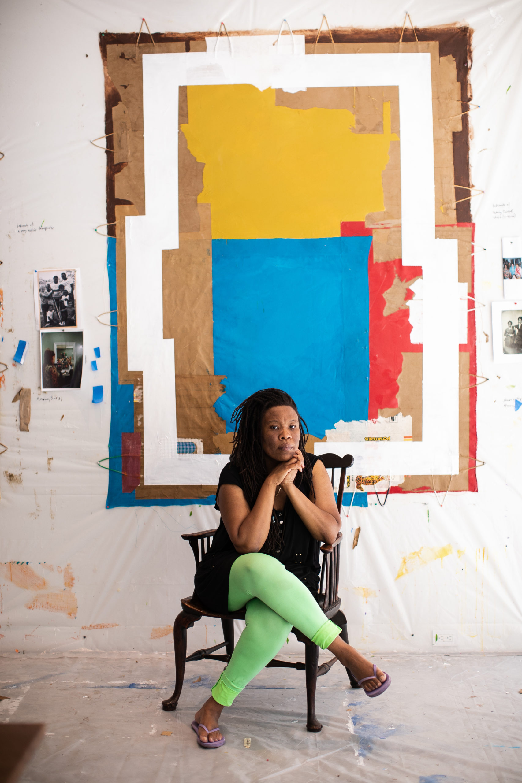 Artist Tomashi Jackson will be honored at the Parrish's Midsummer Weekend.